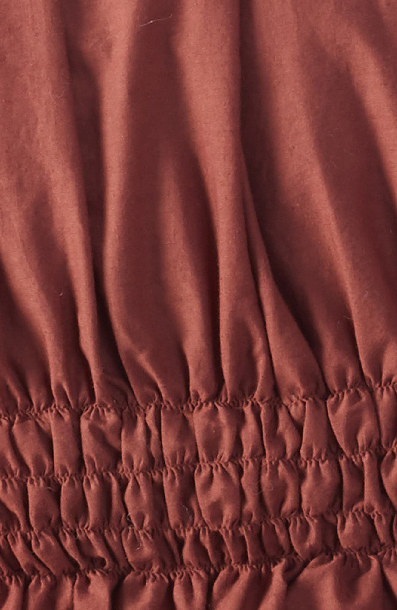 Solid Ruched Comforter,                             Alternate thumbnail 2, color,                             930