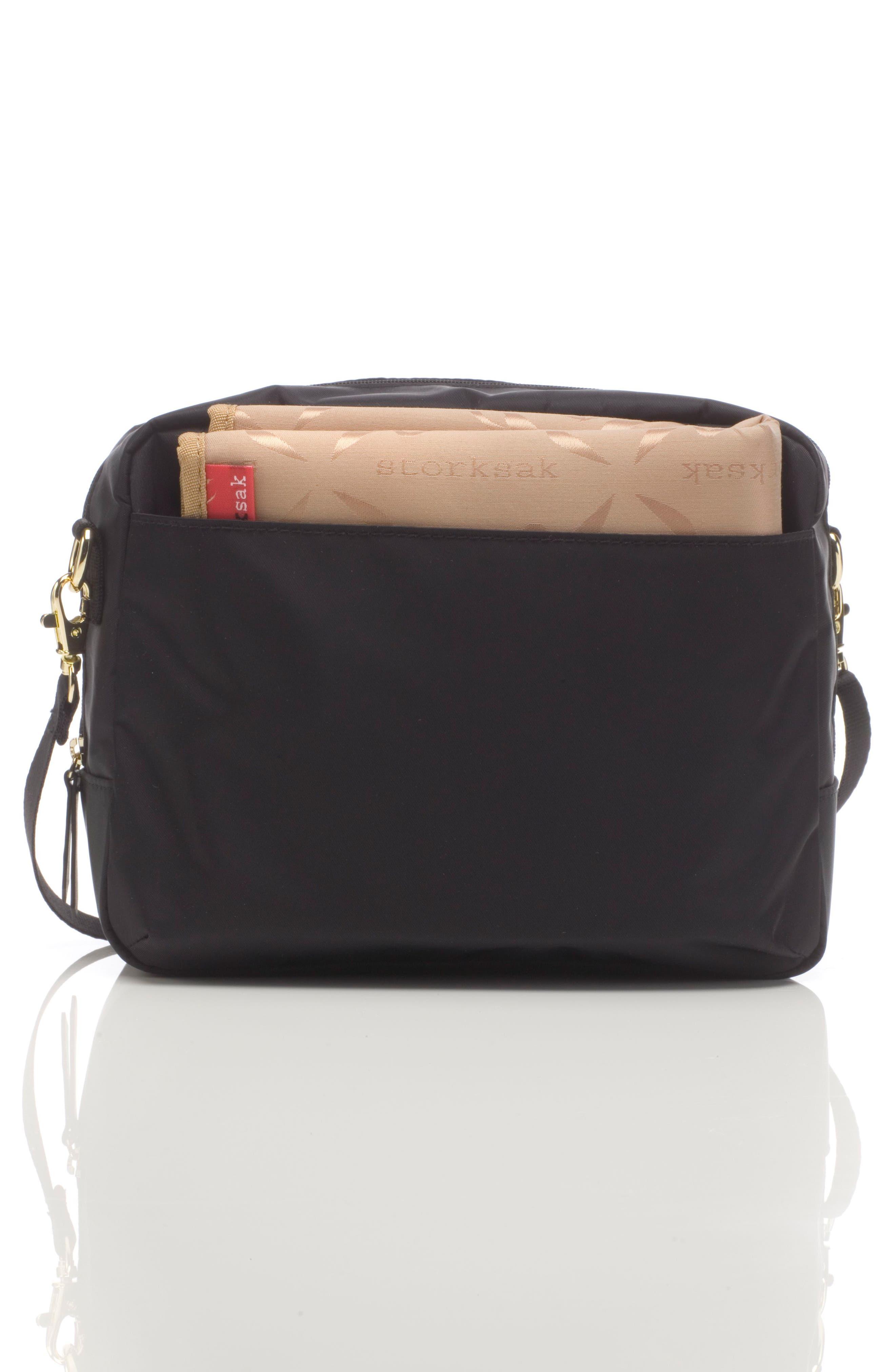 Mini Fix Crossbody Diaper Bag,                             Alternate thumbnail 2, color,                             BLACK