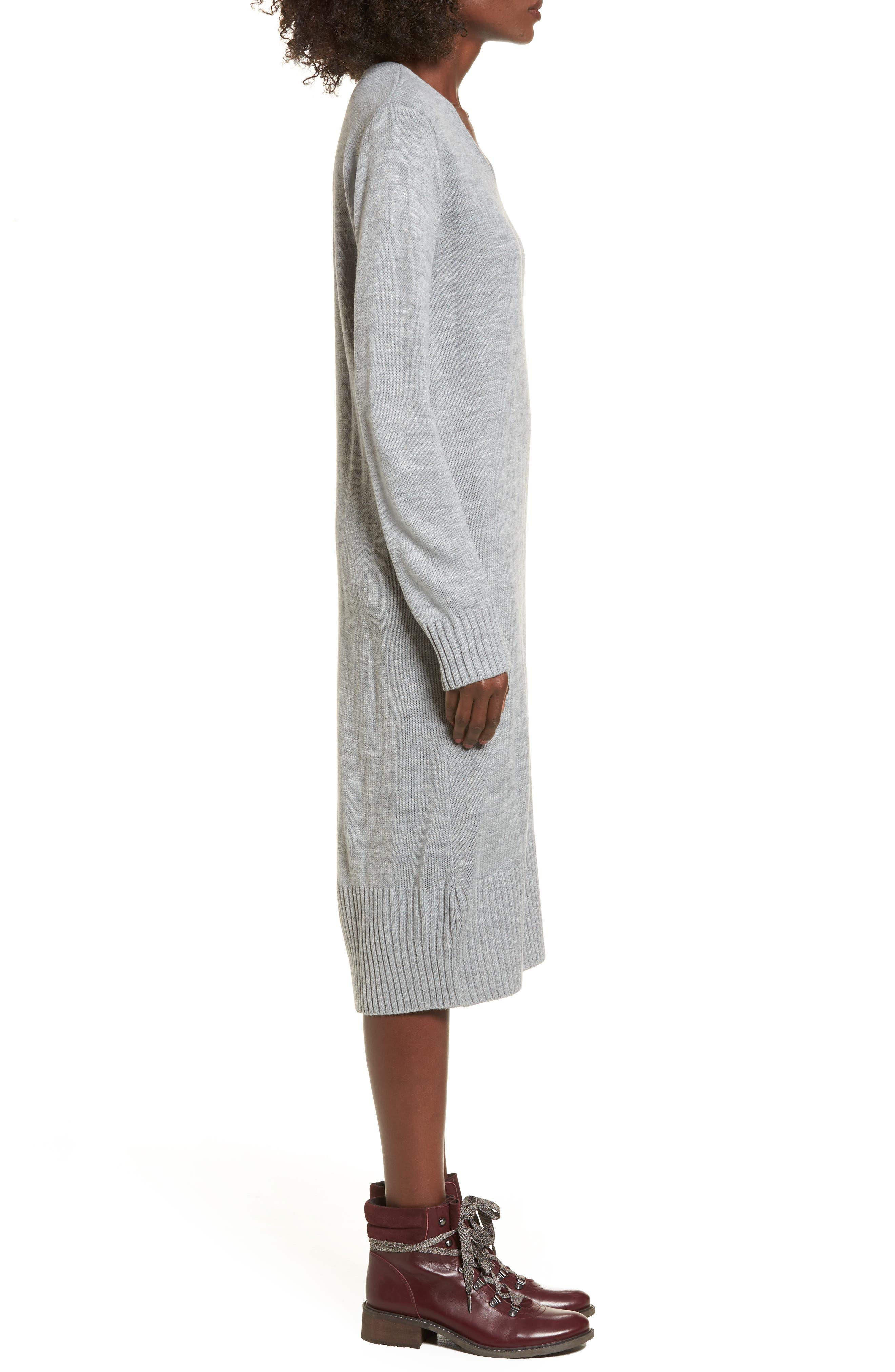 Sweater Dress,                             Alternate thumbnail 8, color,