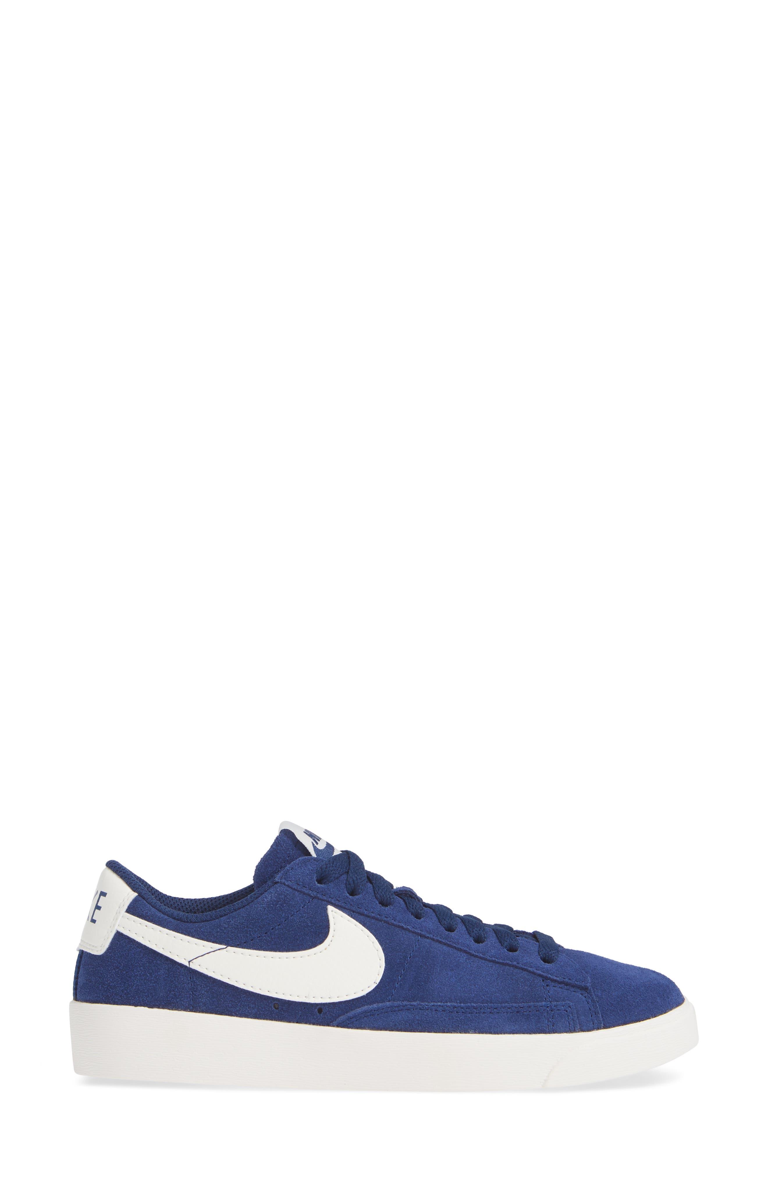 Blazer Low Sneaker,                             Alternate thumbnail 3, color,                             402