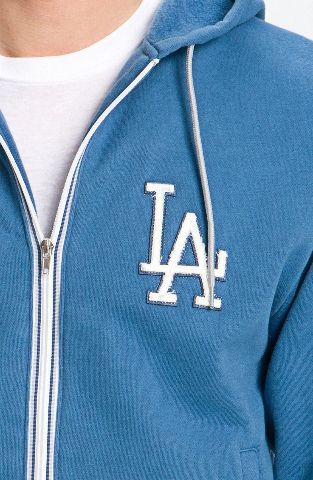 'Los Angeles Dodgers' Hoodie,                             Alternate thumbnail 3, color,                             401