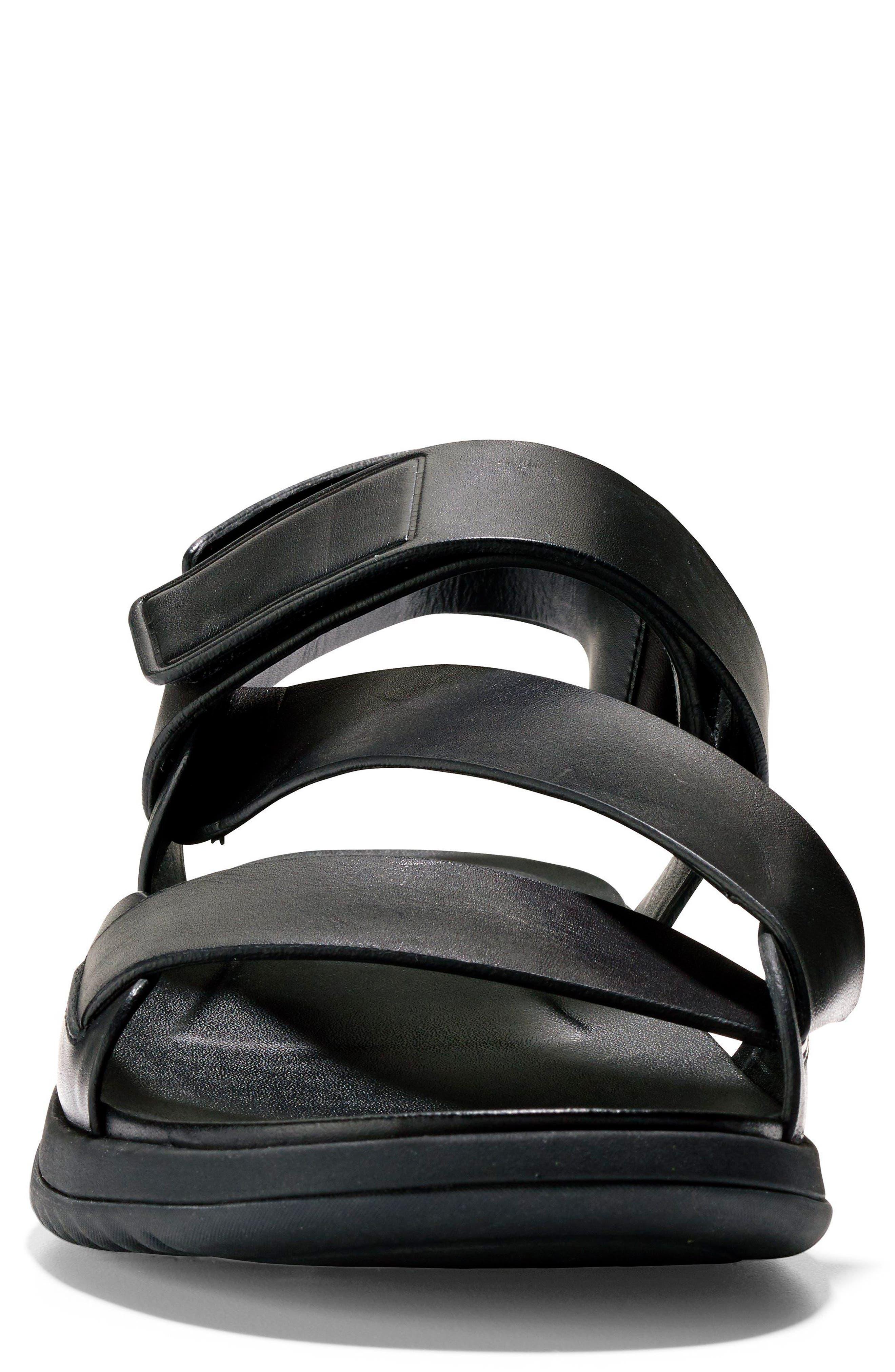 2.ZeroGrand Multistrap Sandal,                             Alternate thumbnail 4, color,                             003