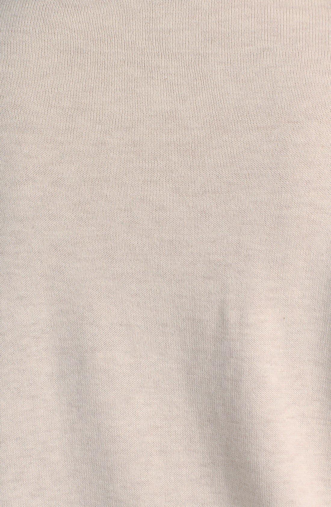 Intarsia Crewneck Sweater,                             Alternate thumbnail 6, color,