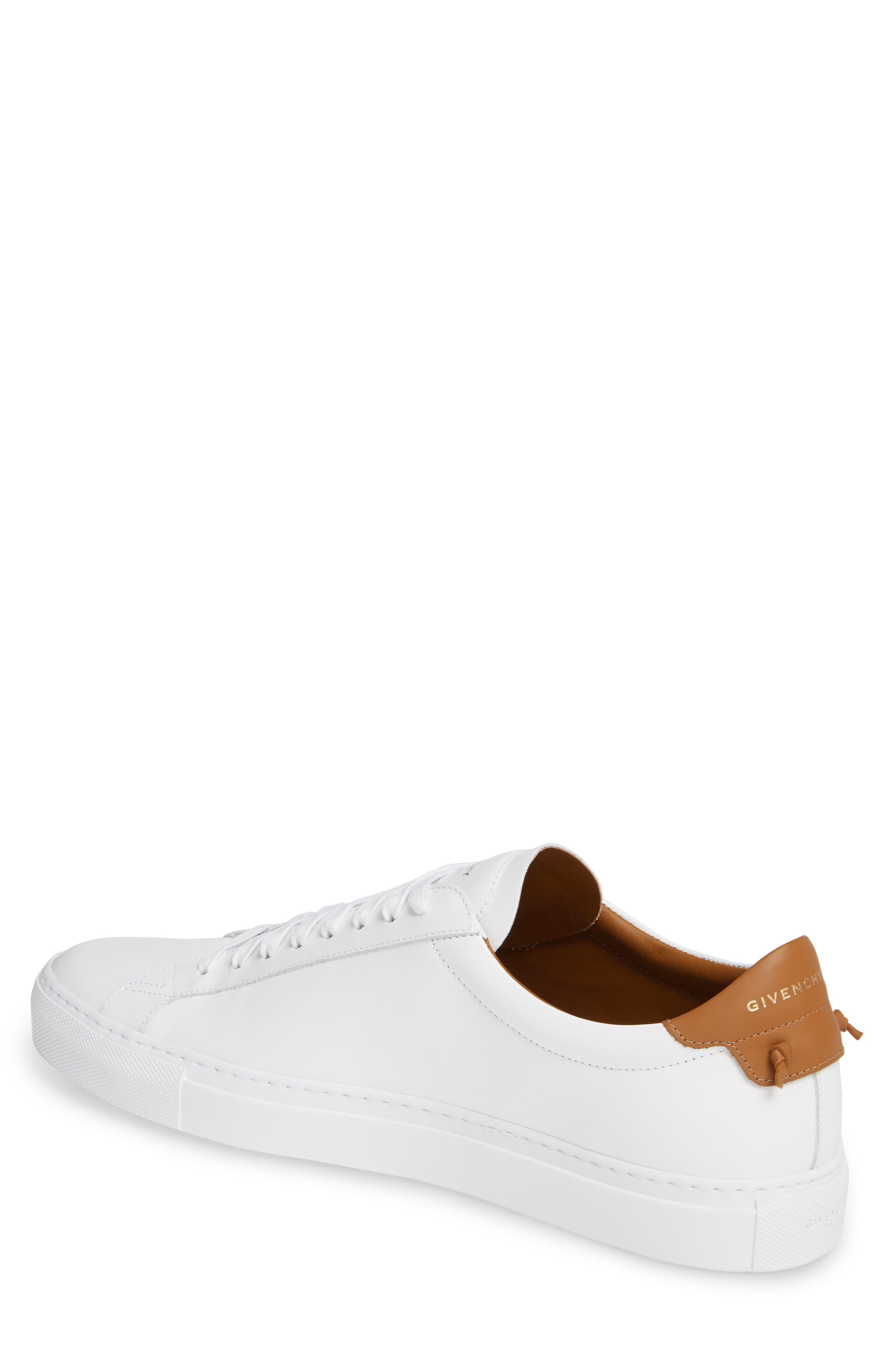 GIVENCHY,                             Urban Knots Low Sneaker,                             Alternate thumbnail 2, color,                             WHITE/ BEIGE