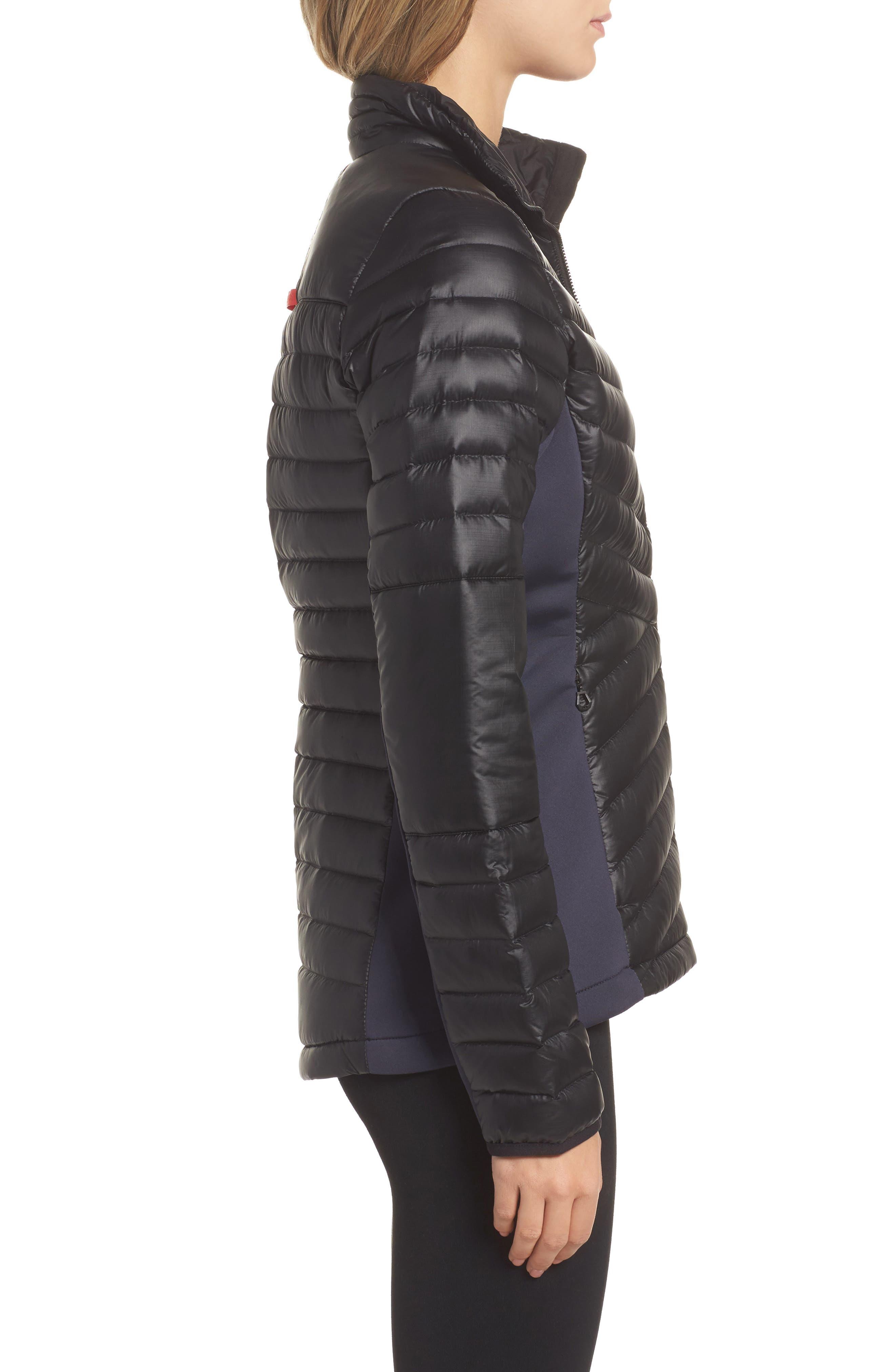 Verglas Hybrid Down Insulator Jacket,                             Alternate thumbnail 3, color,                             001
