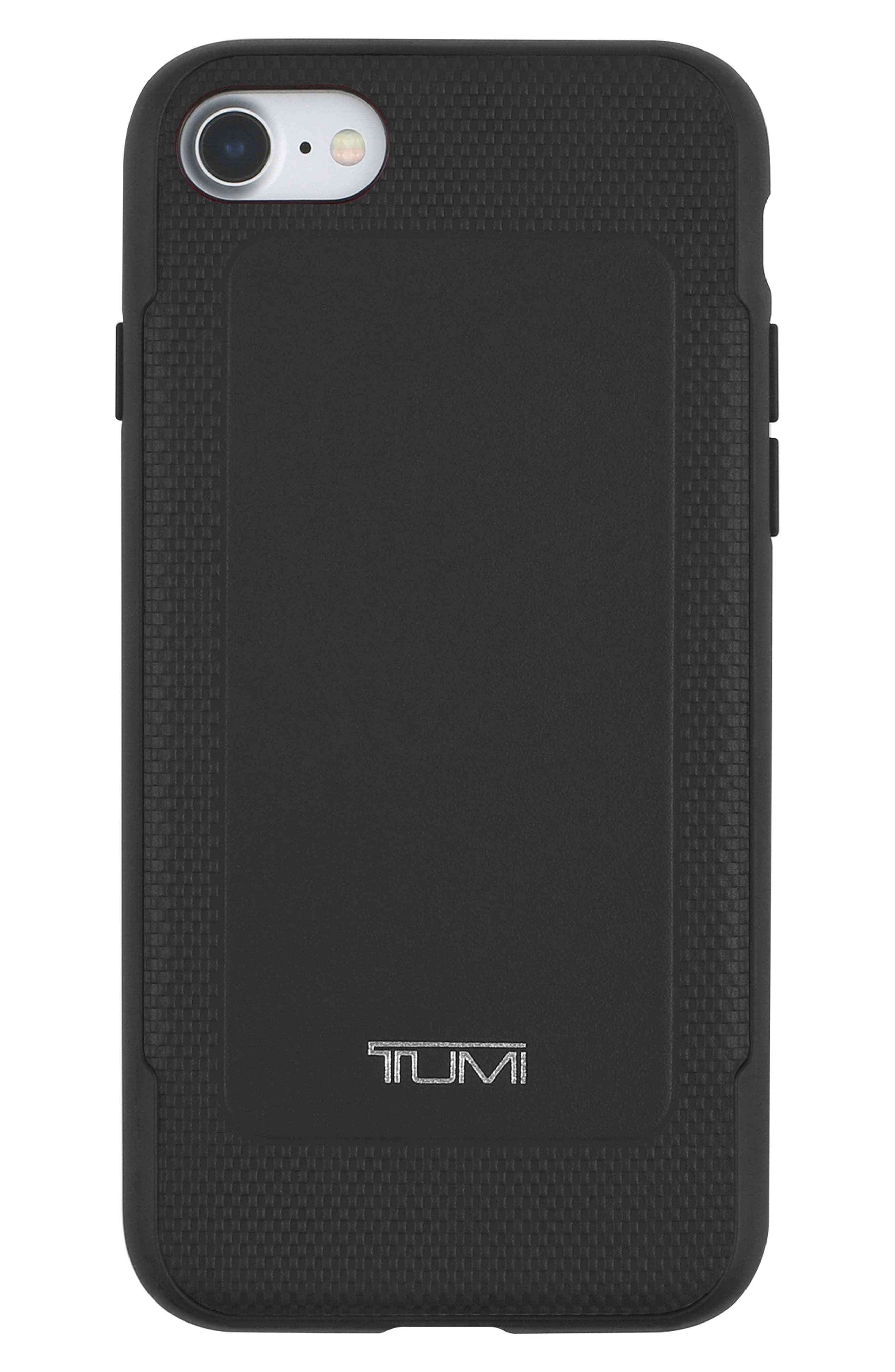 Leather iPhone 8 Case,                             Main thumbnail 1, color,