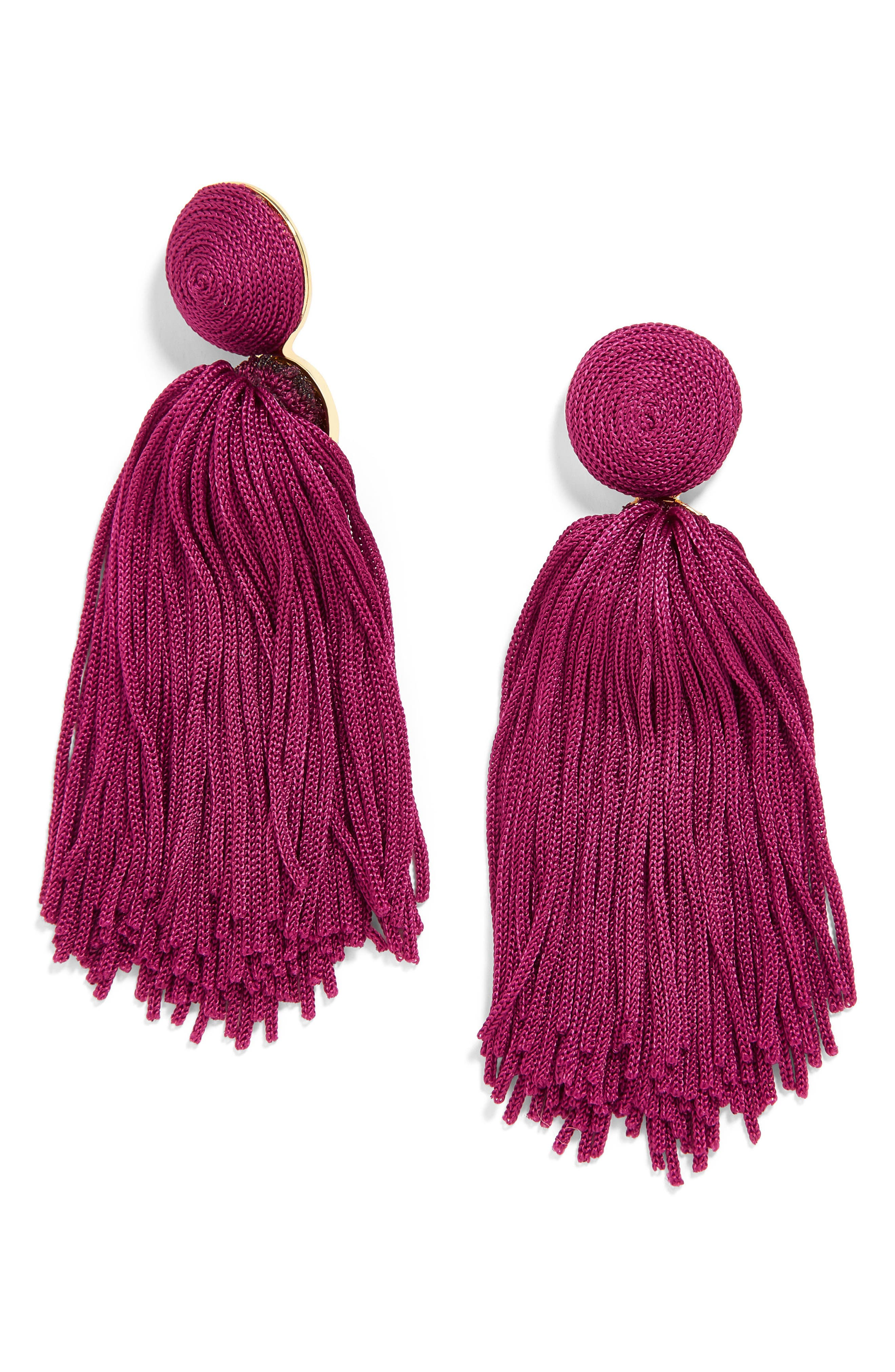 Sonatina Tassel Earrings,                             Main thumbnail 9, color,