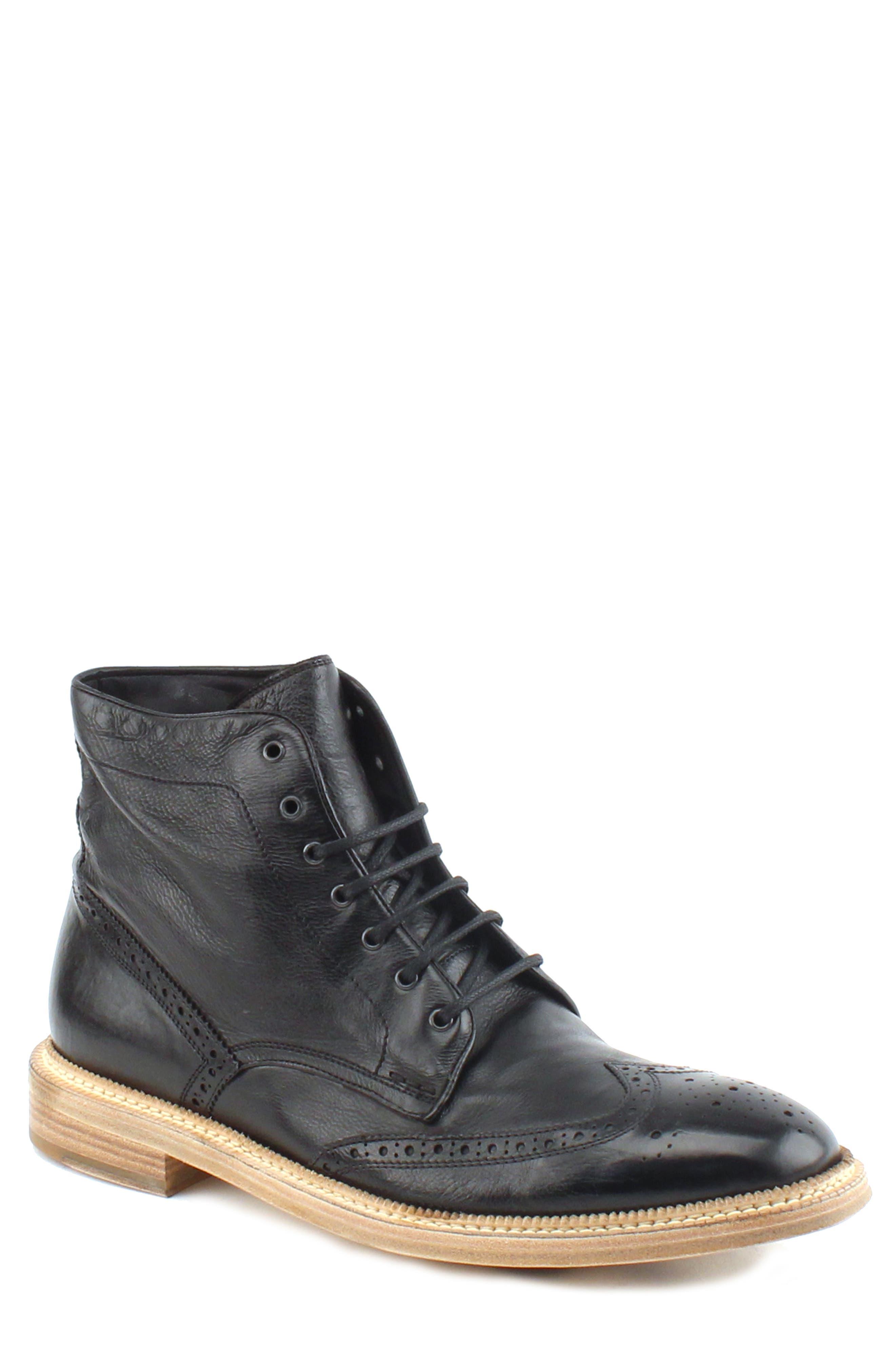 Max Wingtip Boot,                         Main,                         color, 001