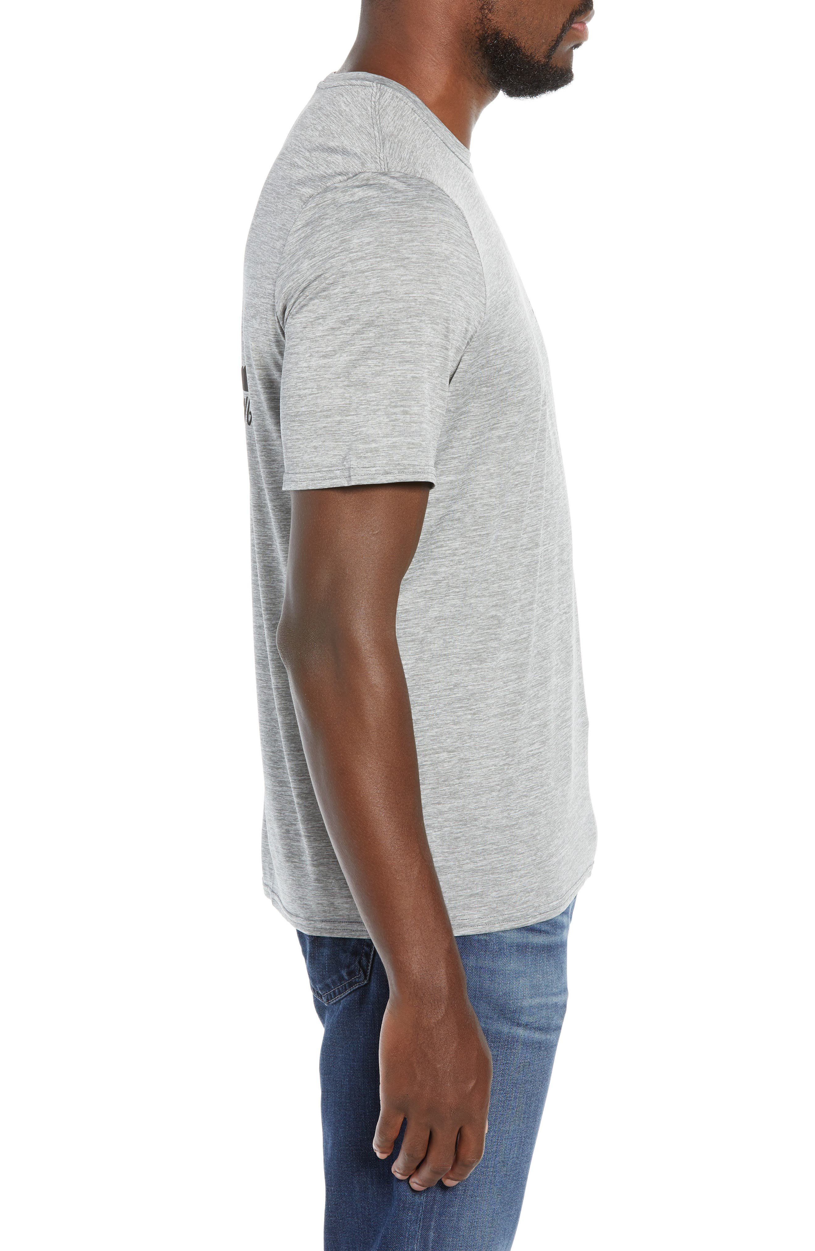 Capilene<sup>®</sup> Daily Regular Fit T-Shirt,                             Alternate thumbnail 3, color,                             TRAIL MYSTIC FEATHER GREY