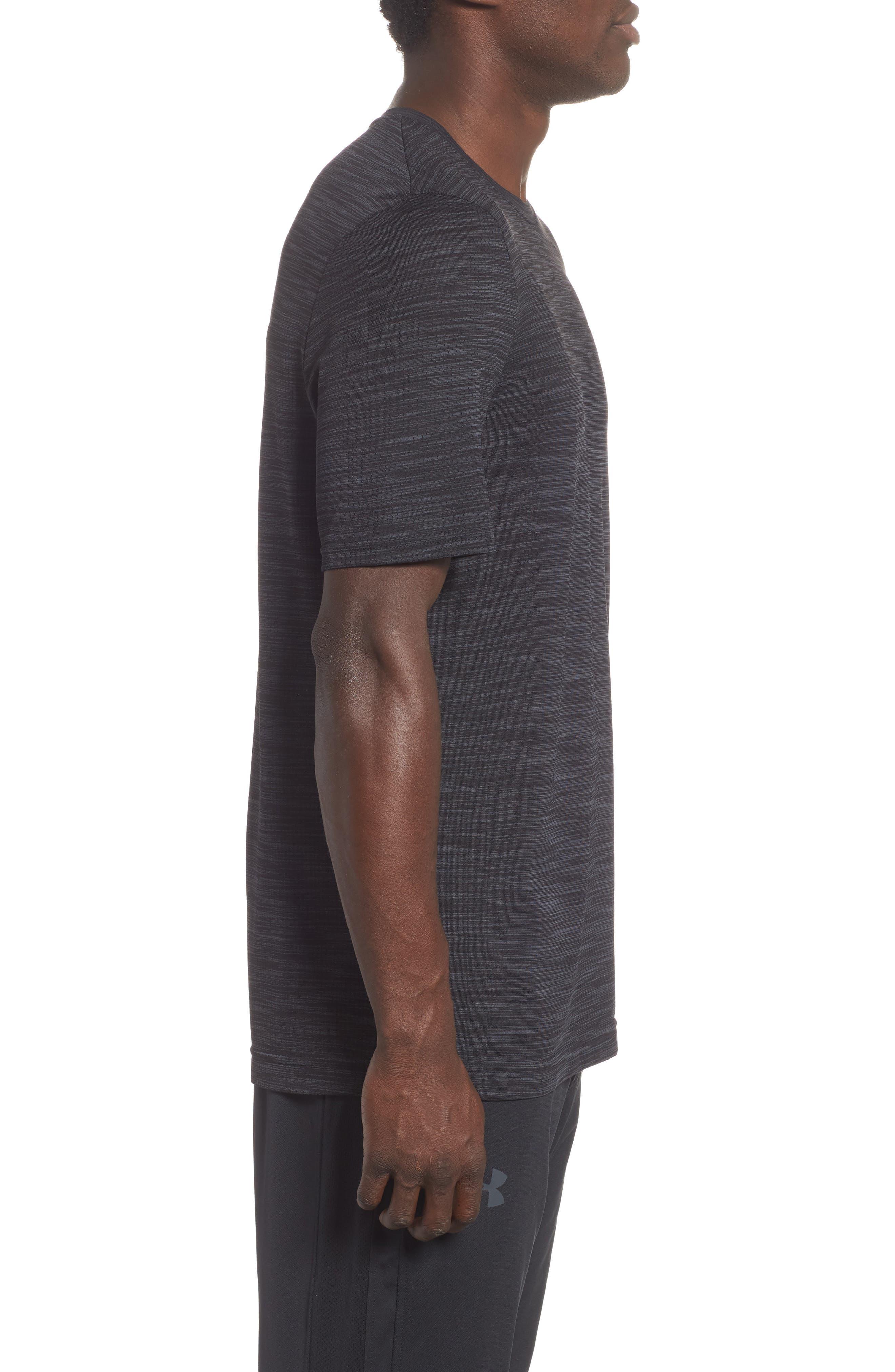 Siphon Performance T-Shirt,                             Alternate thumbnail 3, color,                             BLACK