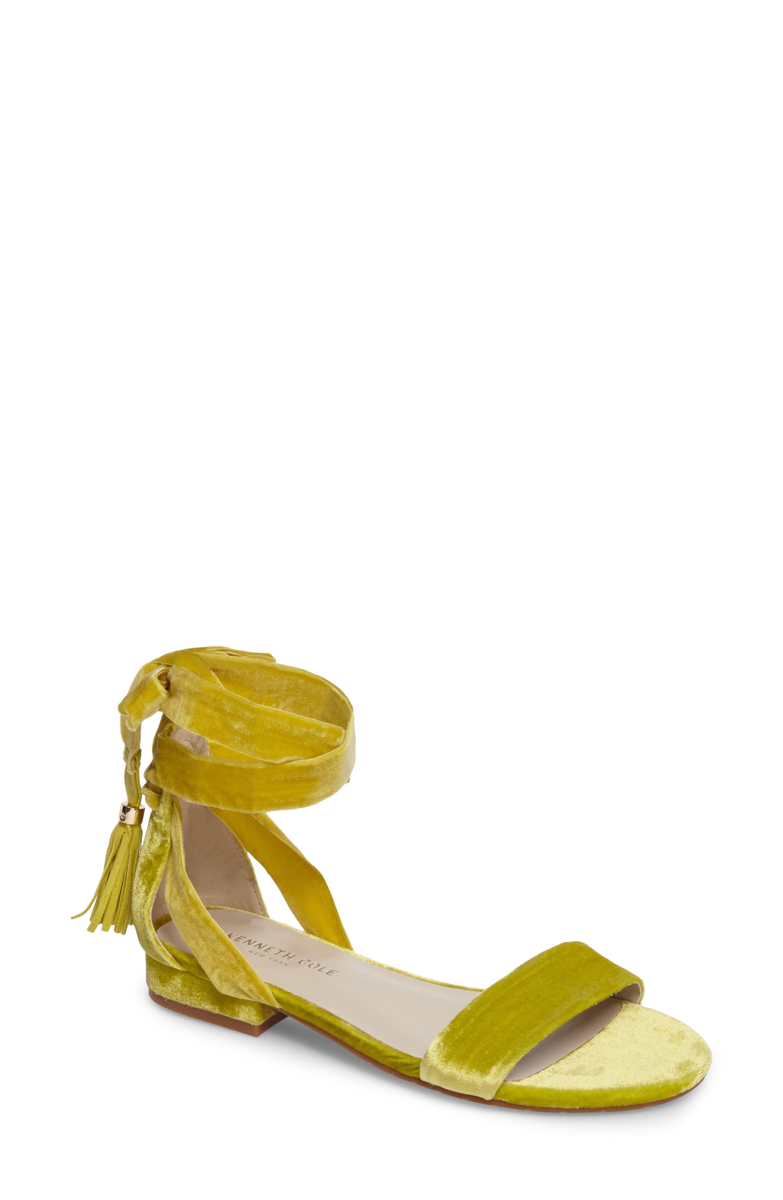 Valen Tassel Lace-Up Sandal,                             Main thumbnail 7, color,