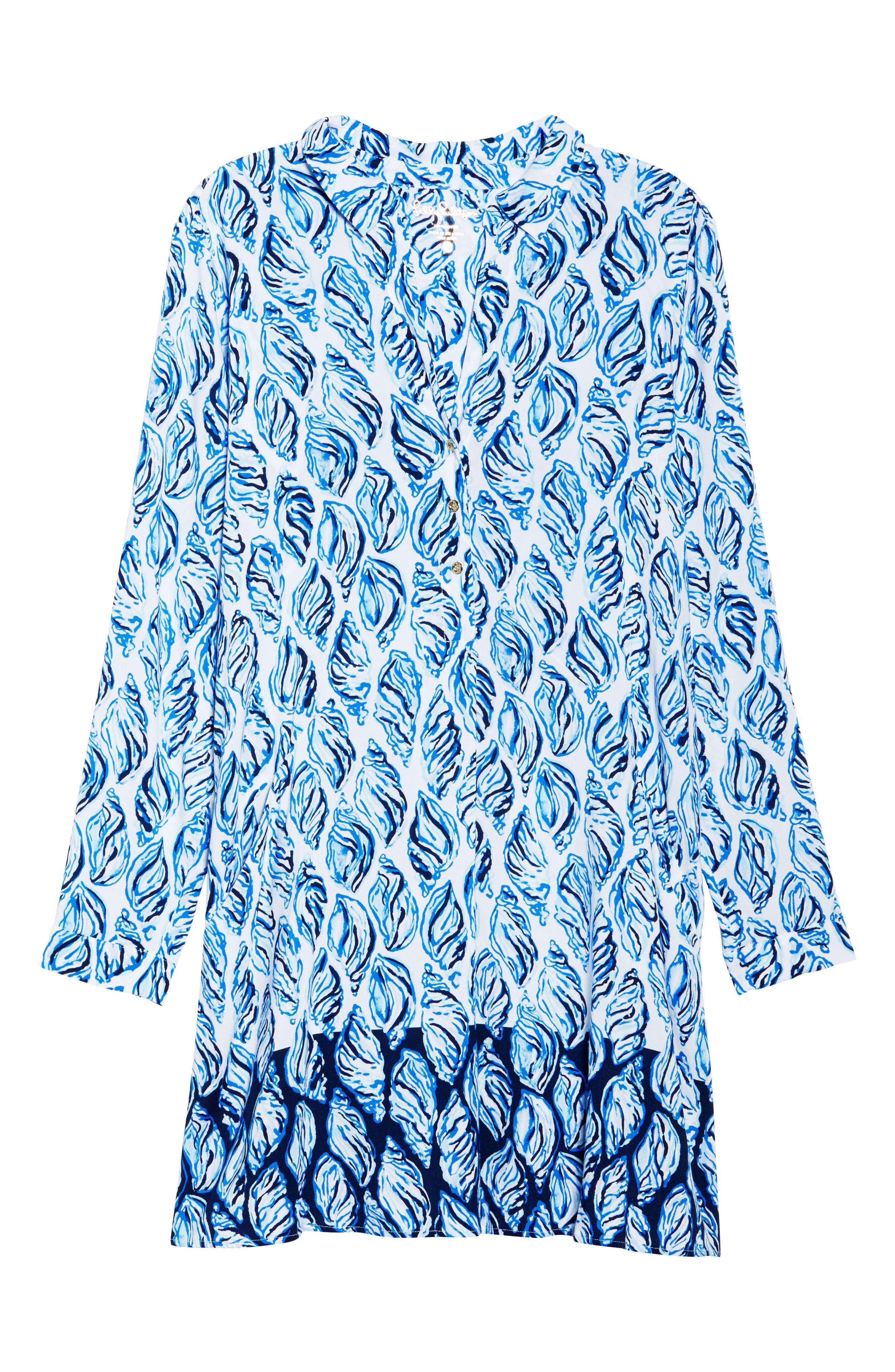 Lillith Shirtdress,                             Alternate thumbnail 8, color,                             100