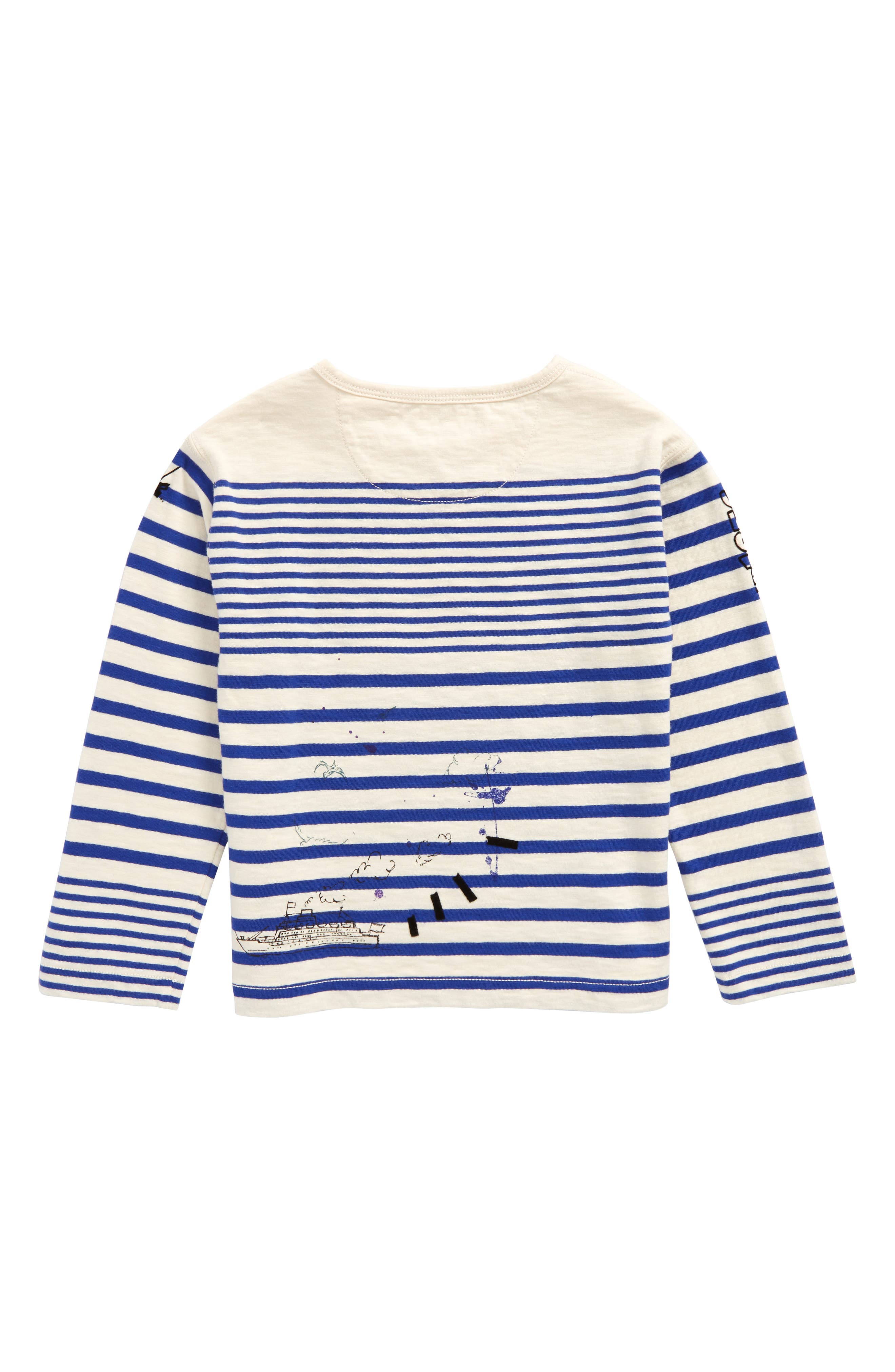 Stripe T-Shirt,                             Alternate thumbnail 3, color,