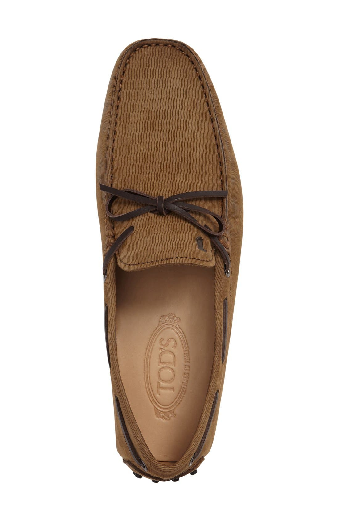 Gommini Tie Front Driving Moccasin,                             Alternate thumbnail 29, color,