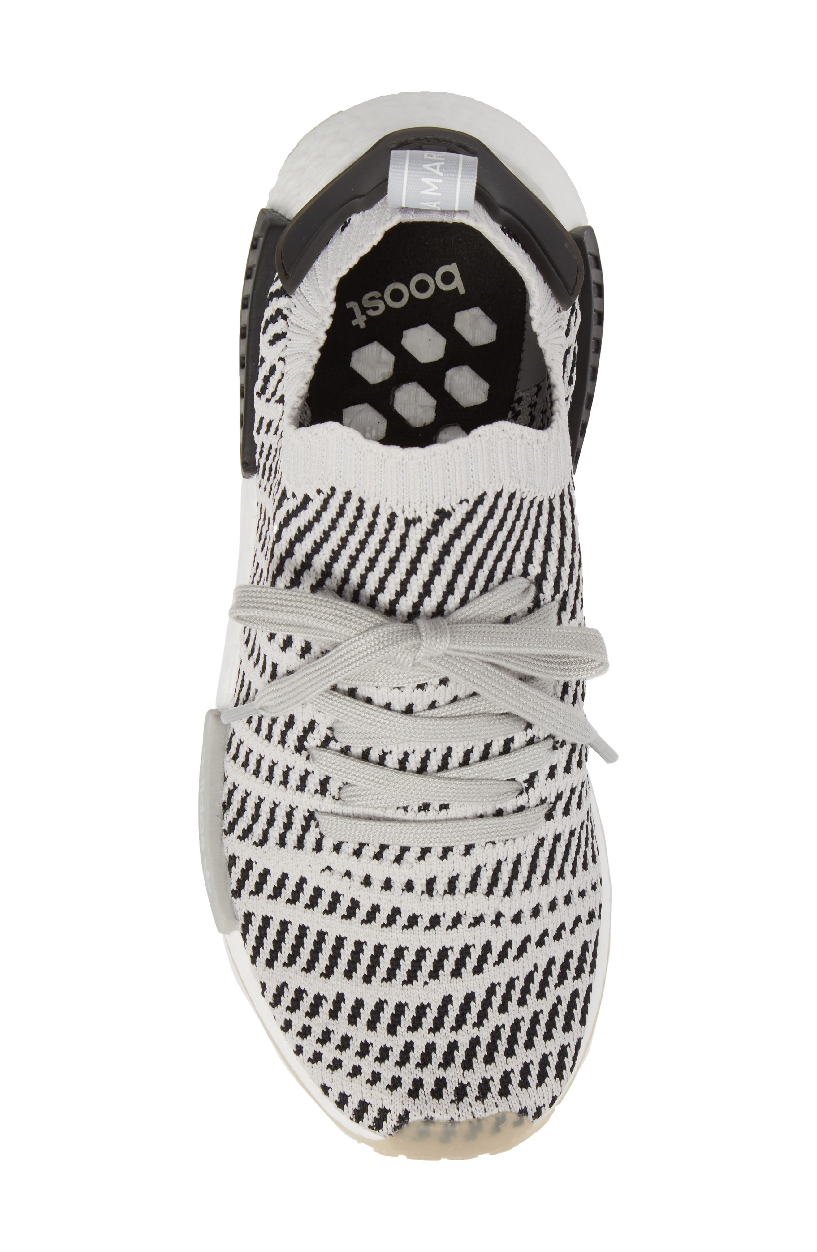 NMD R1 STLT Primeknit Sneaker,                             Alternate thumbnail 5, color,                             033