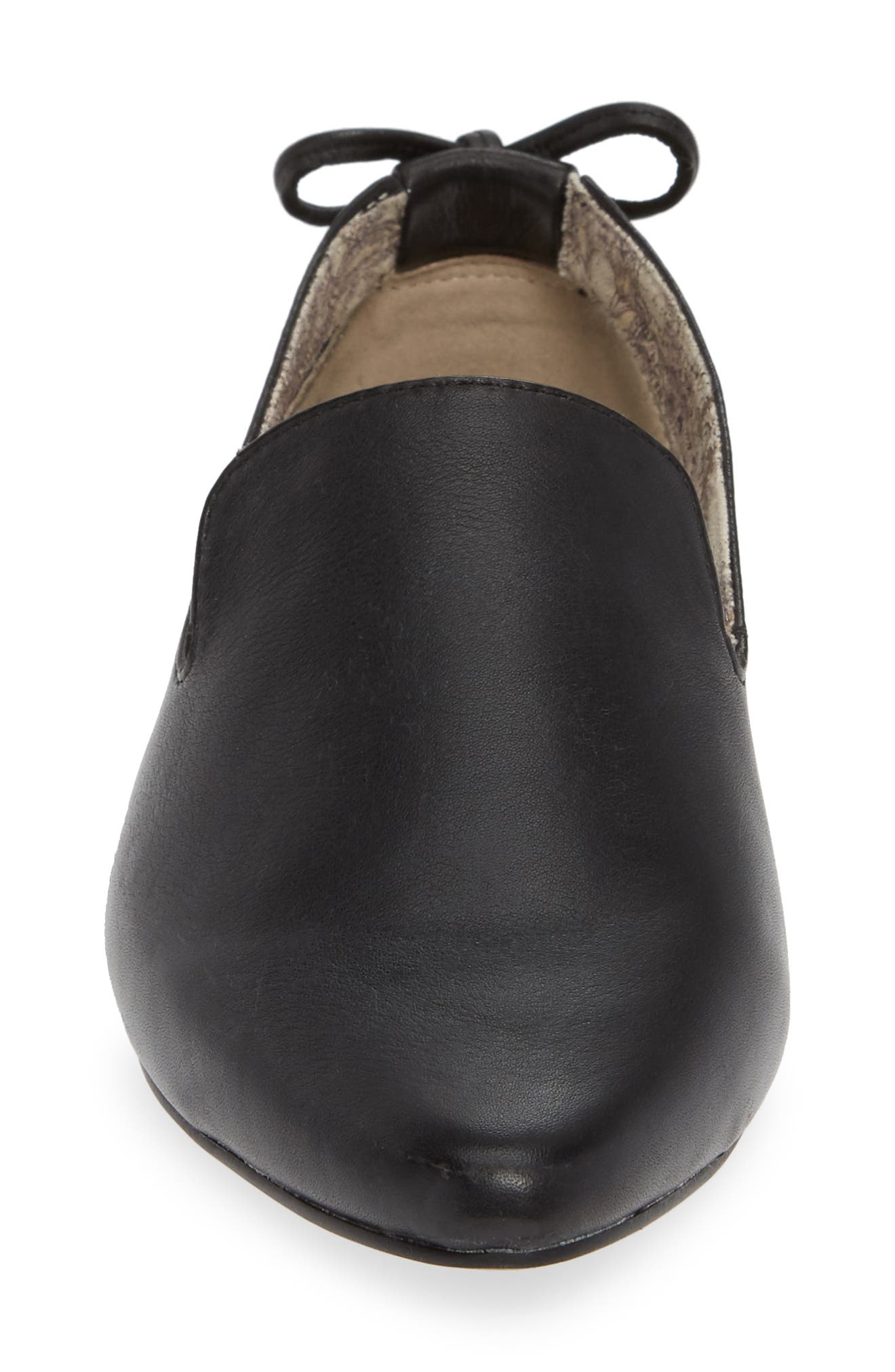 Songbird Loafer,                             Alternate thumbnail 4, color,                             BLACK LEATHER