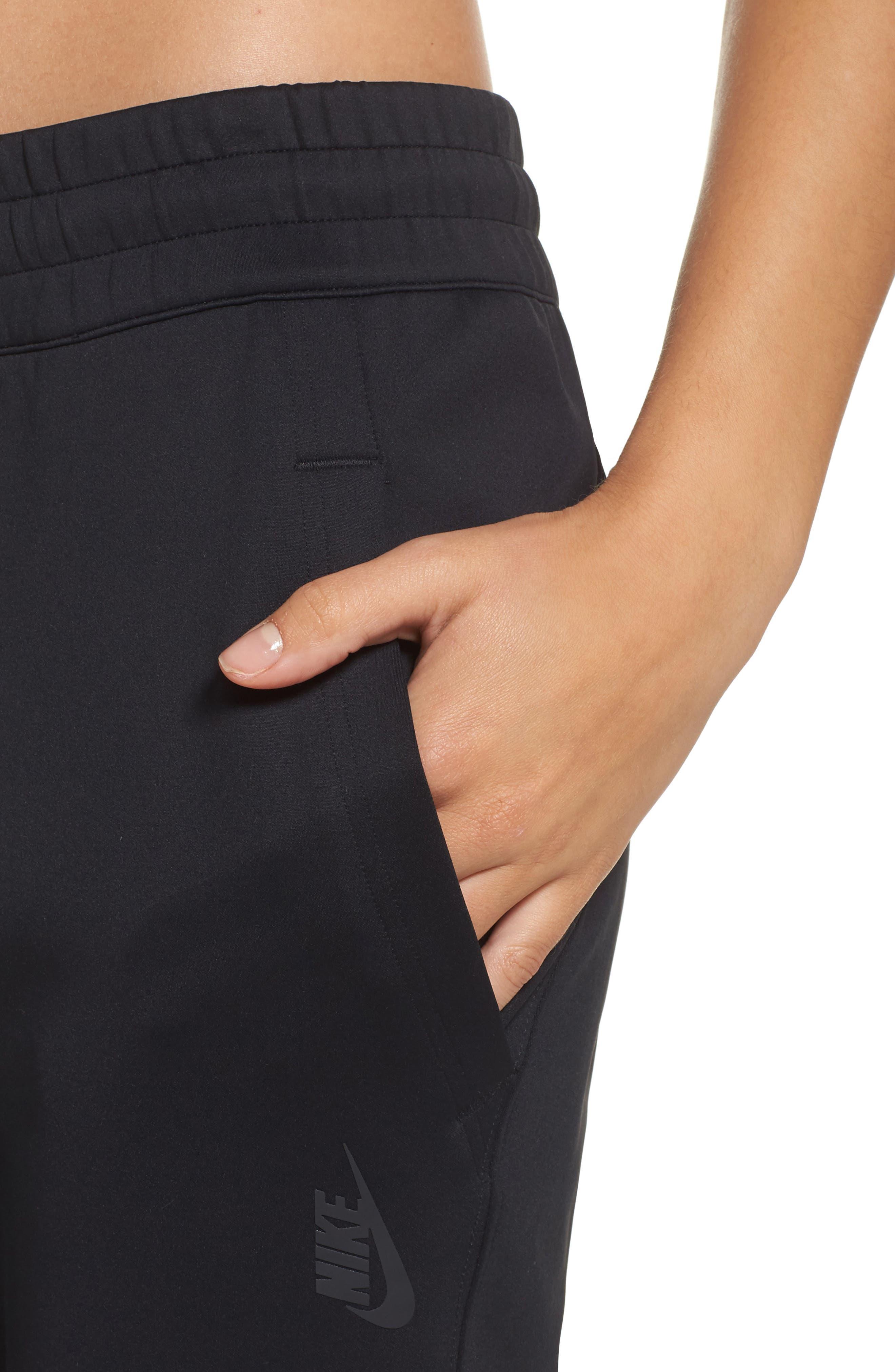 NikeLab Essentials Women's Fleece Pants,                             Alternate thumbnail 4, color,                             010