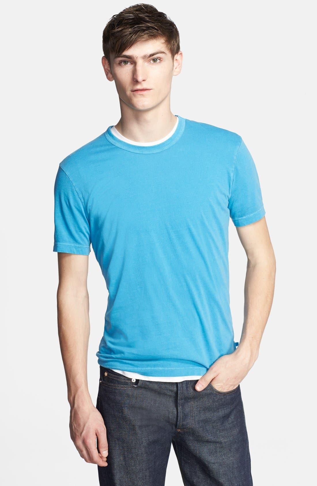 Crewneck Jersey T-Shirt,                             Main thumbnail 86, color,