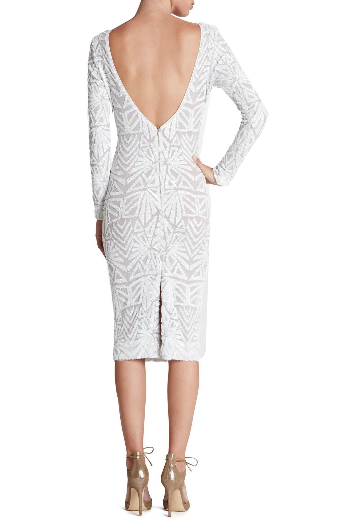 Emery Midi Dress,                             Alternate thumbnail 23, color,