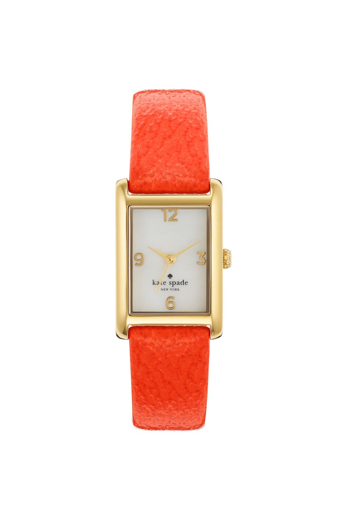'cooper' leather strap watch, 21mm x 32mm,                             Main thumbnail 12, color,