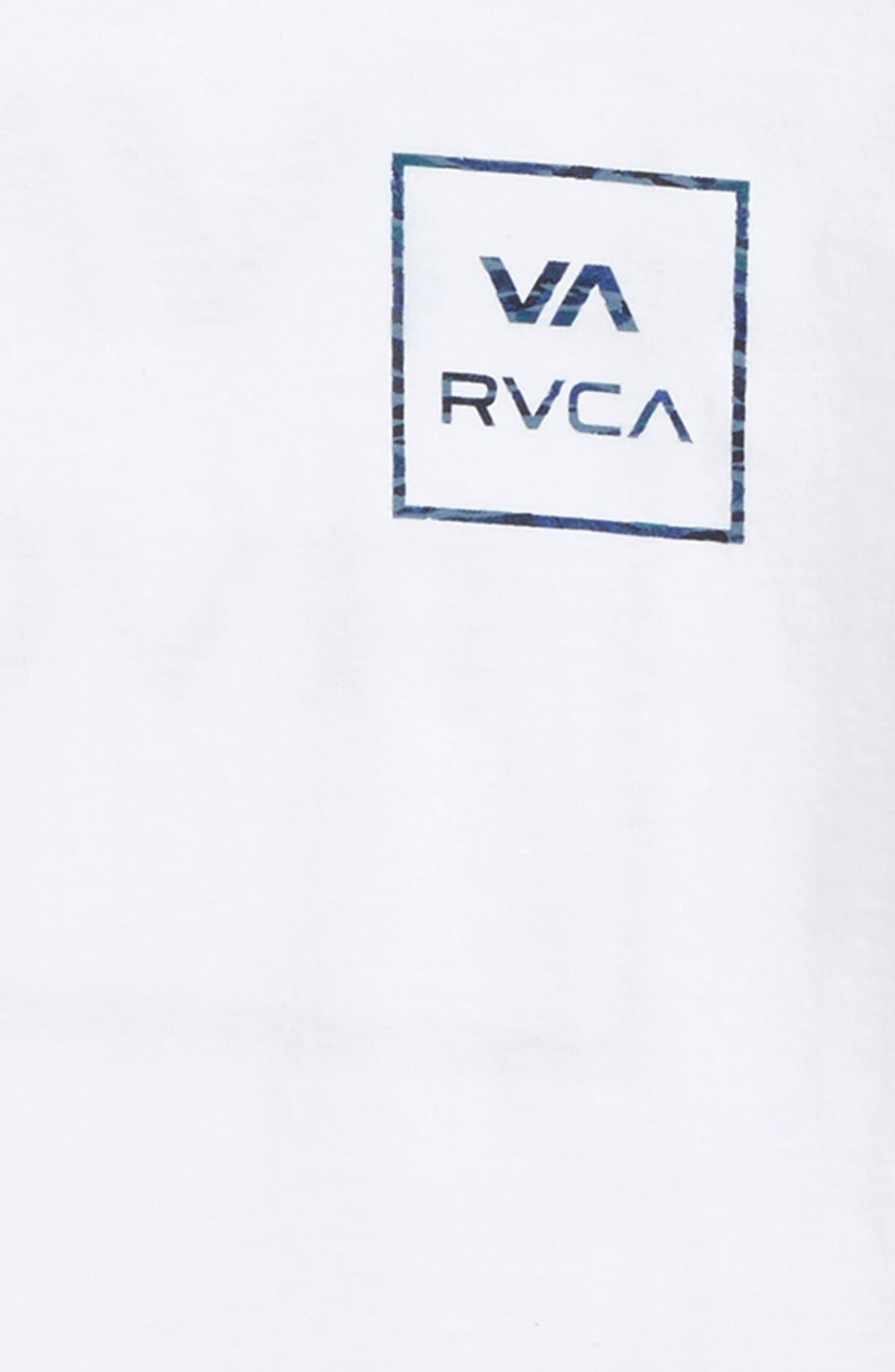 VA all the Way Graphic T-Shirt,                             Alternate thumbnail 3, color,                             100