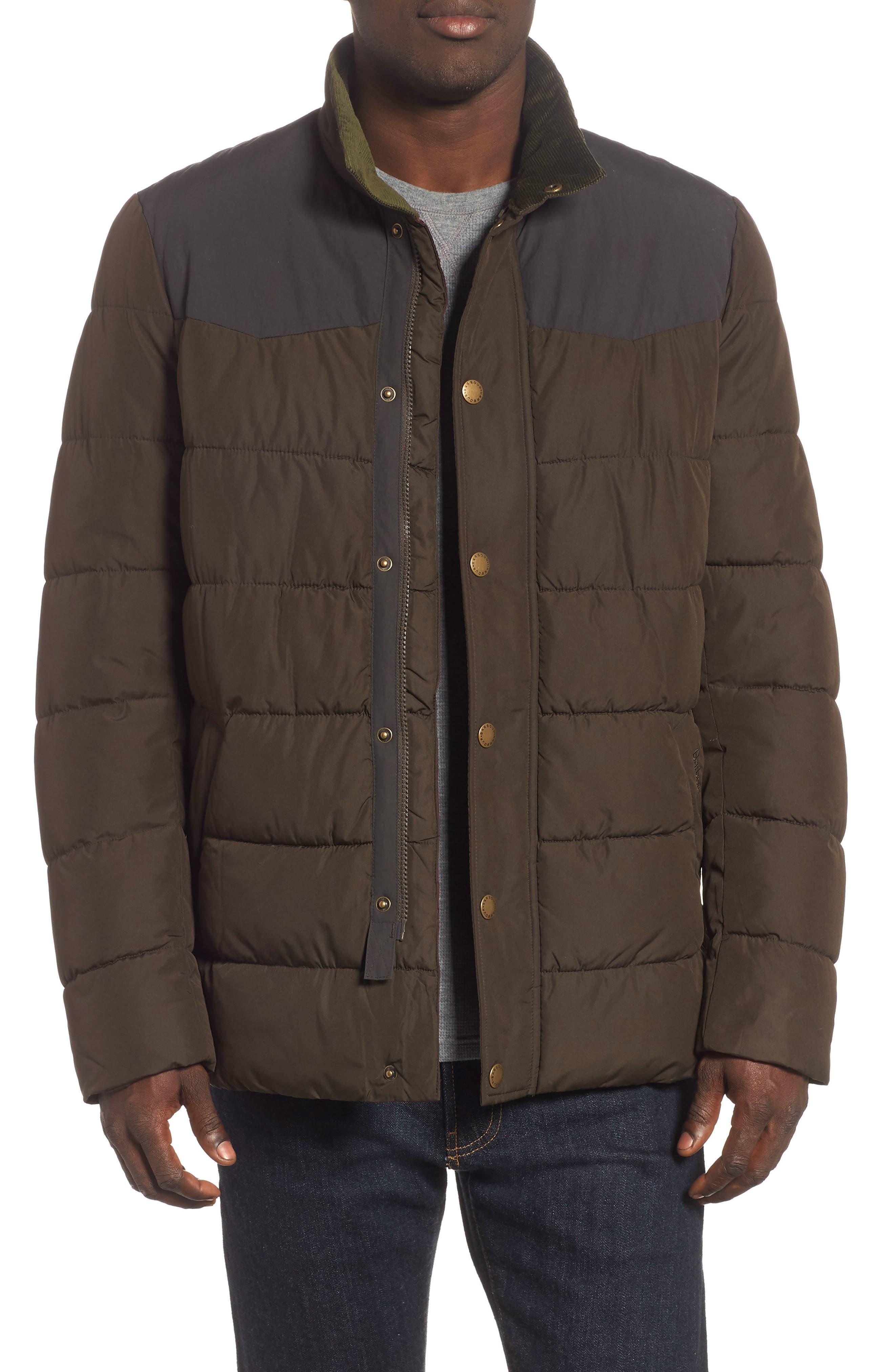 Barbour Stevenson Quilted Jacket, Green