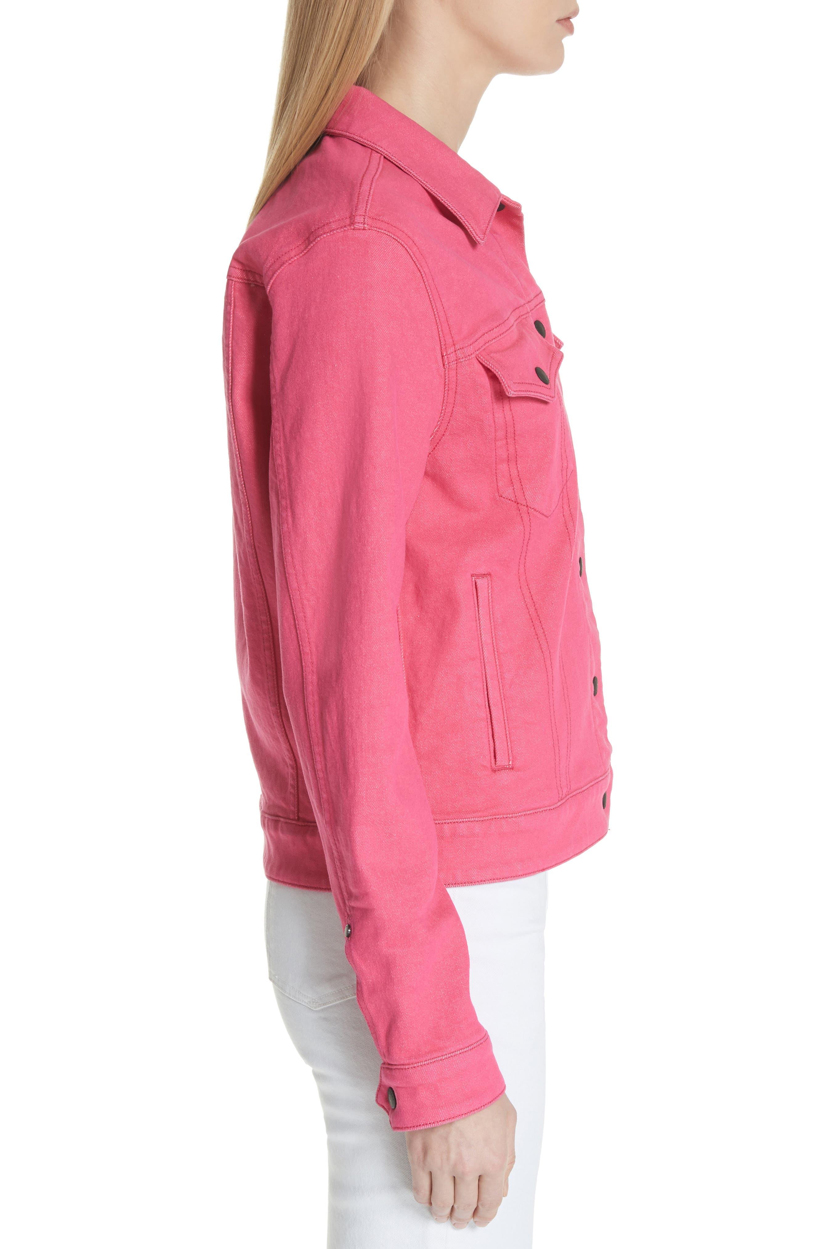 Nico Denim Jacket,                             Alternate thumbnail 3, color,                             672