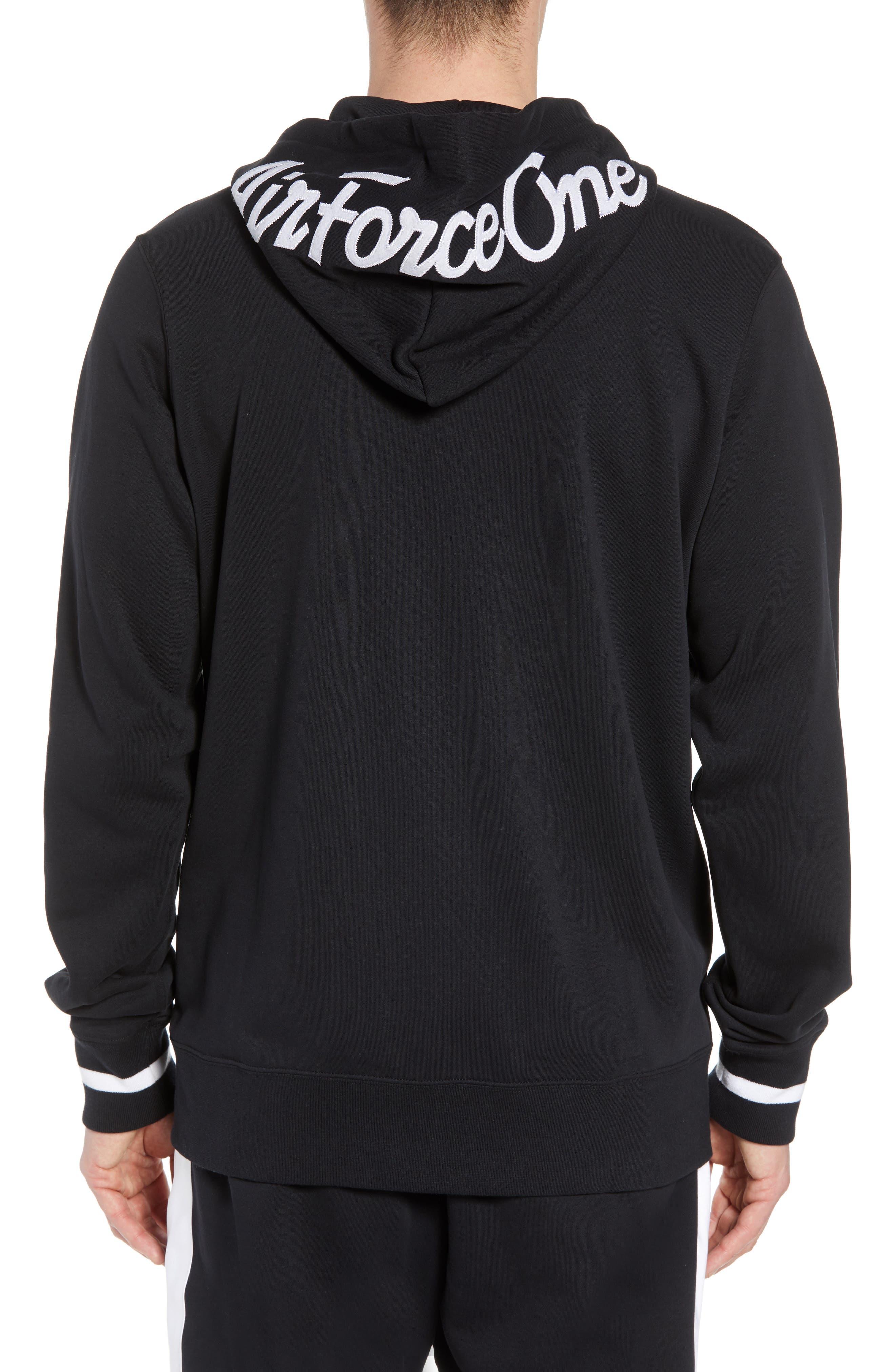 Sportswear Air Force 1 Full Zip Hoodie,                             Alternate thumbnail 2, color,                             010