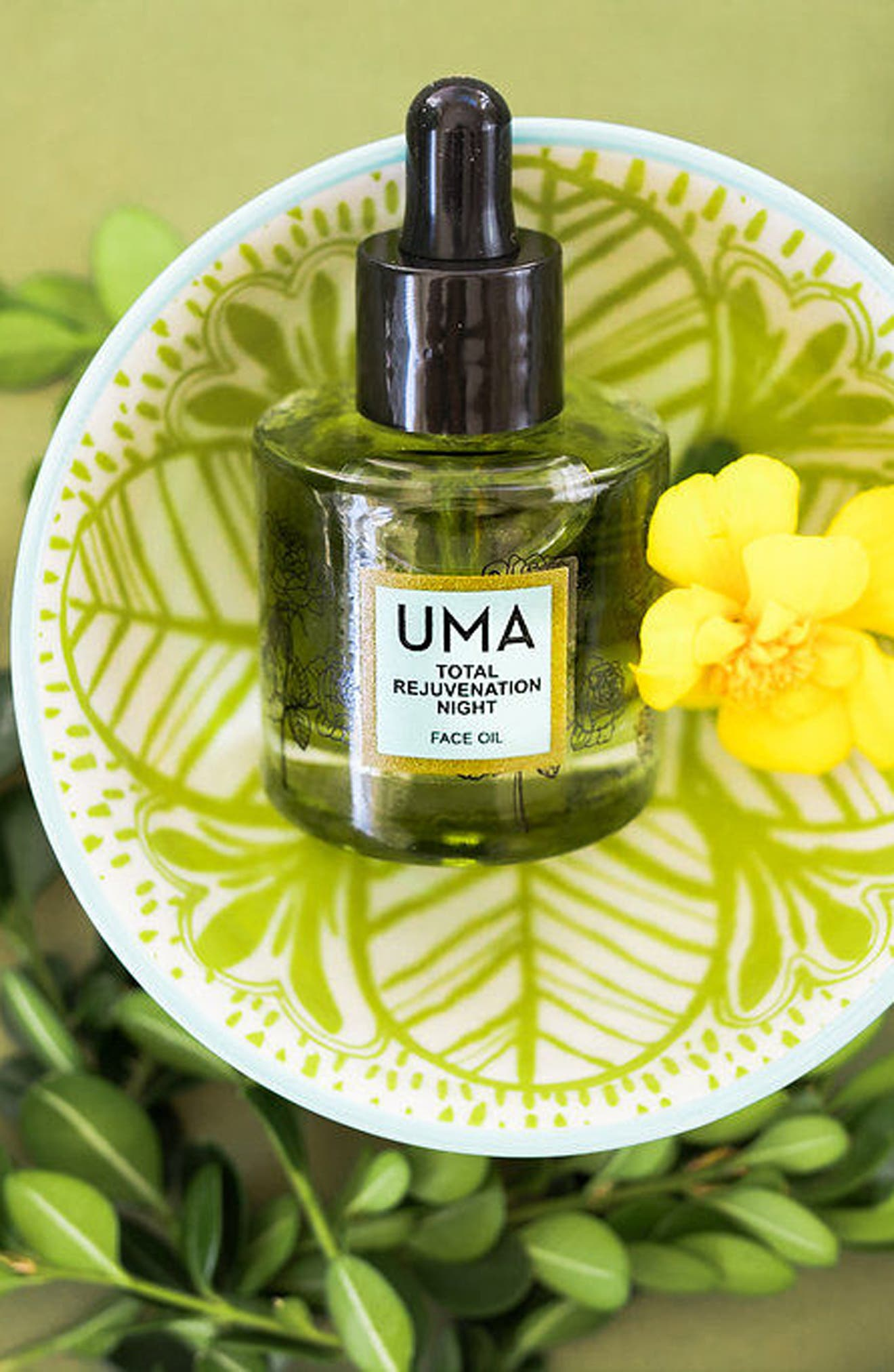 SPACE.NK.apothecary UMA Total Rejuvenation Night Face Oil,                             Alternate thumbnail 2, color,                             NO COLOR
