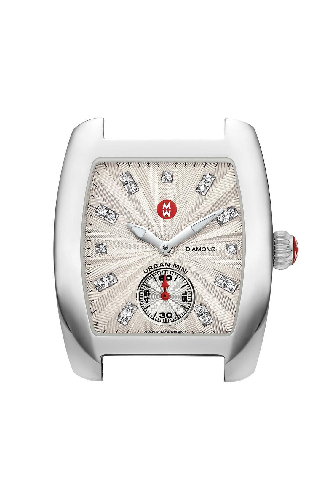 Urban Mini Diamond Dial Watch Case, 29mm x 30mm,                             Main thumbnail 1, color,                             040