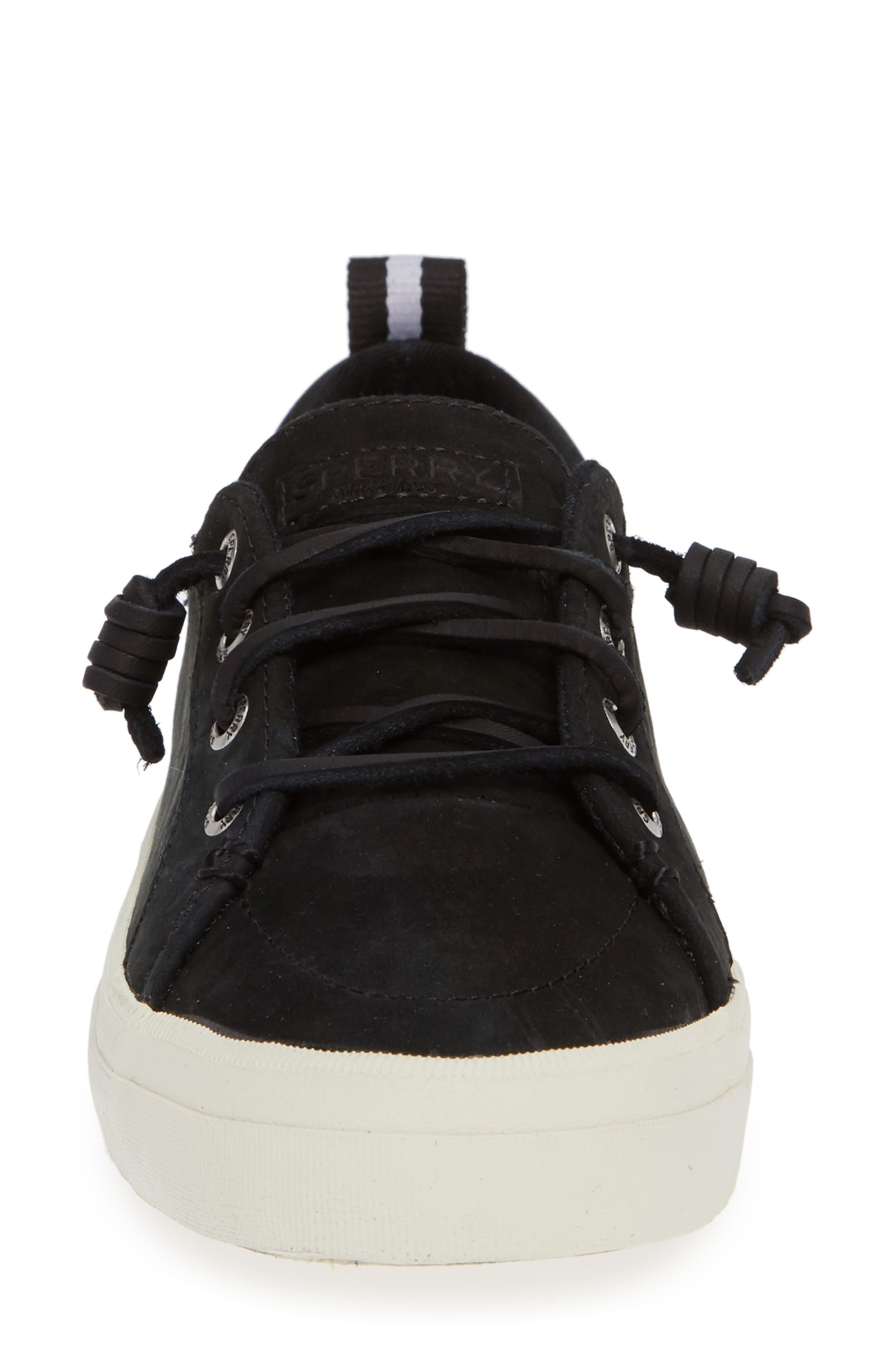 SPERRY,                             Crest Vibe Sneaker,                             Alternate thumbnail 4, color,                             001