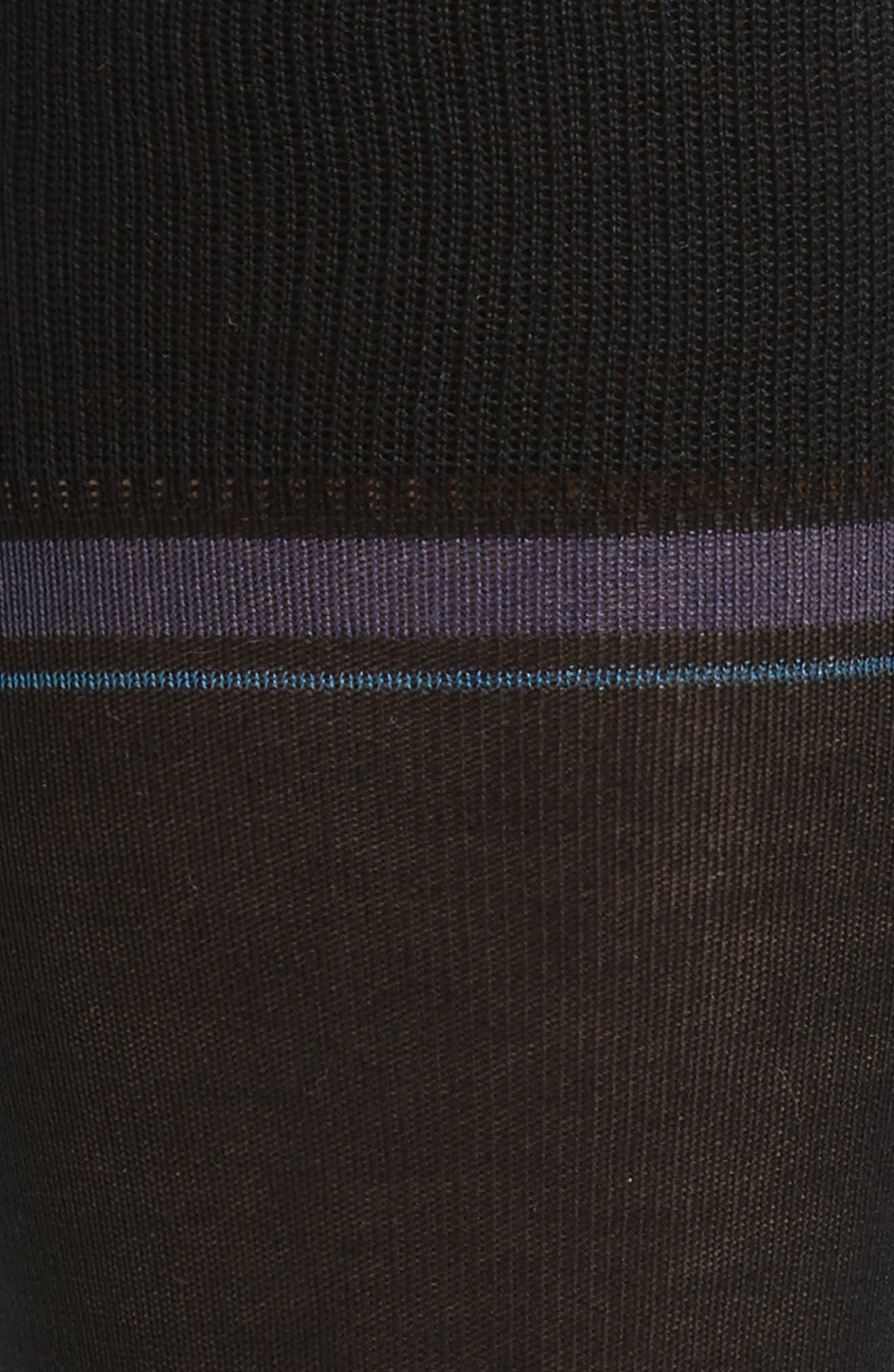 Double Banded Socks,                             Alternate thumbnail 2, color,                             001