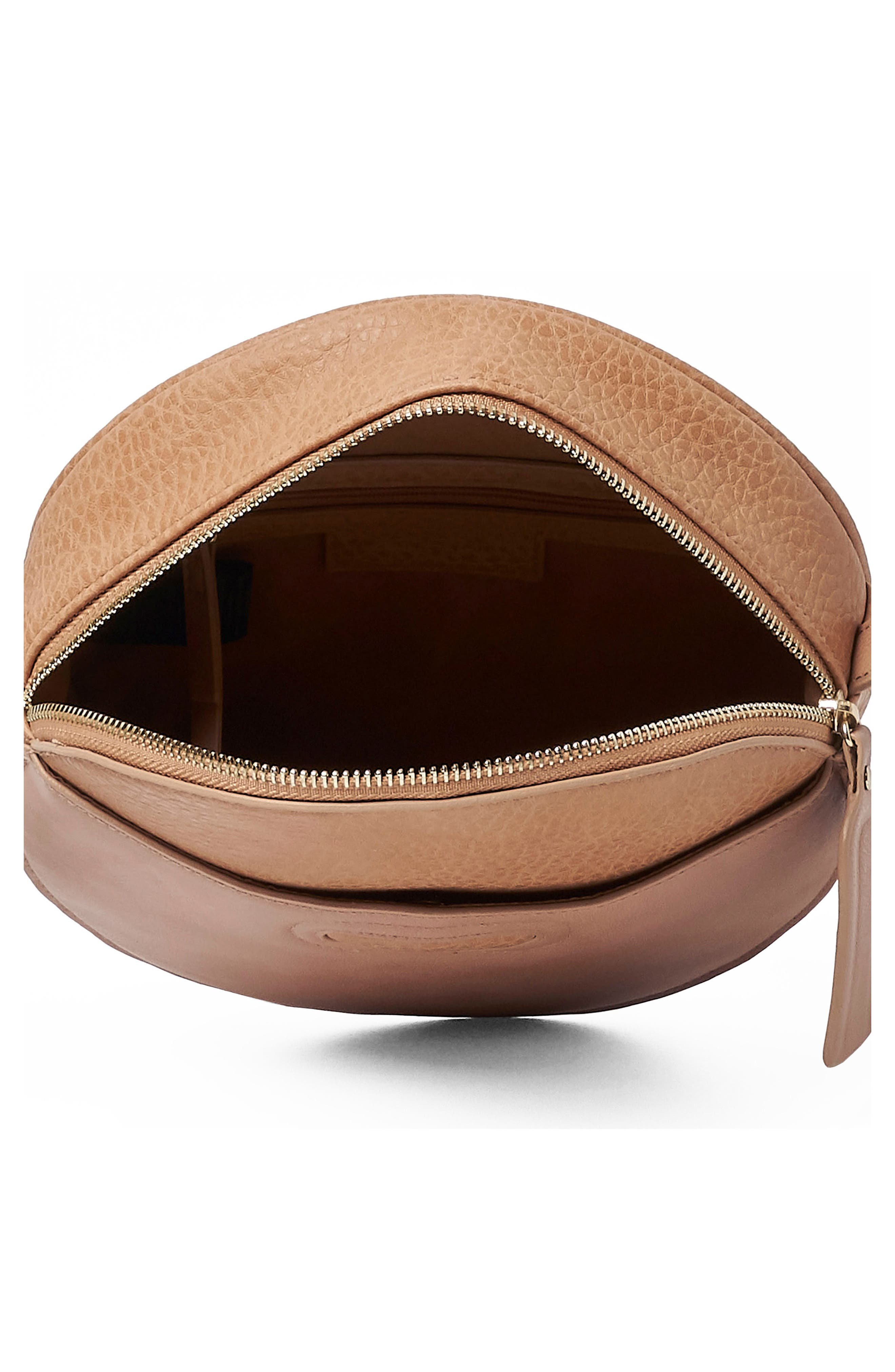 URBAN ORIGINALS,                             Carousel Vegan Leather Crossbody Bag,                             Alternate thumbnail 2, color,                             LATTE