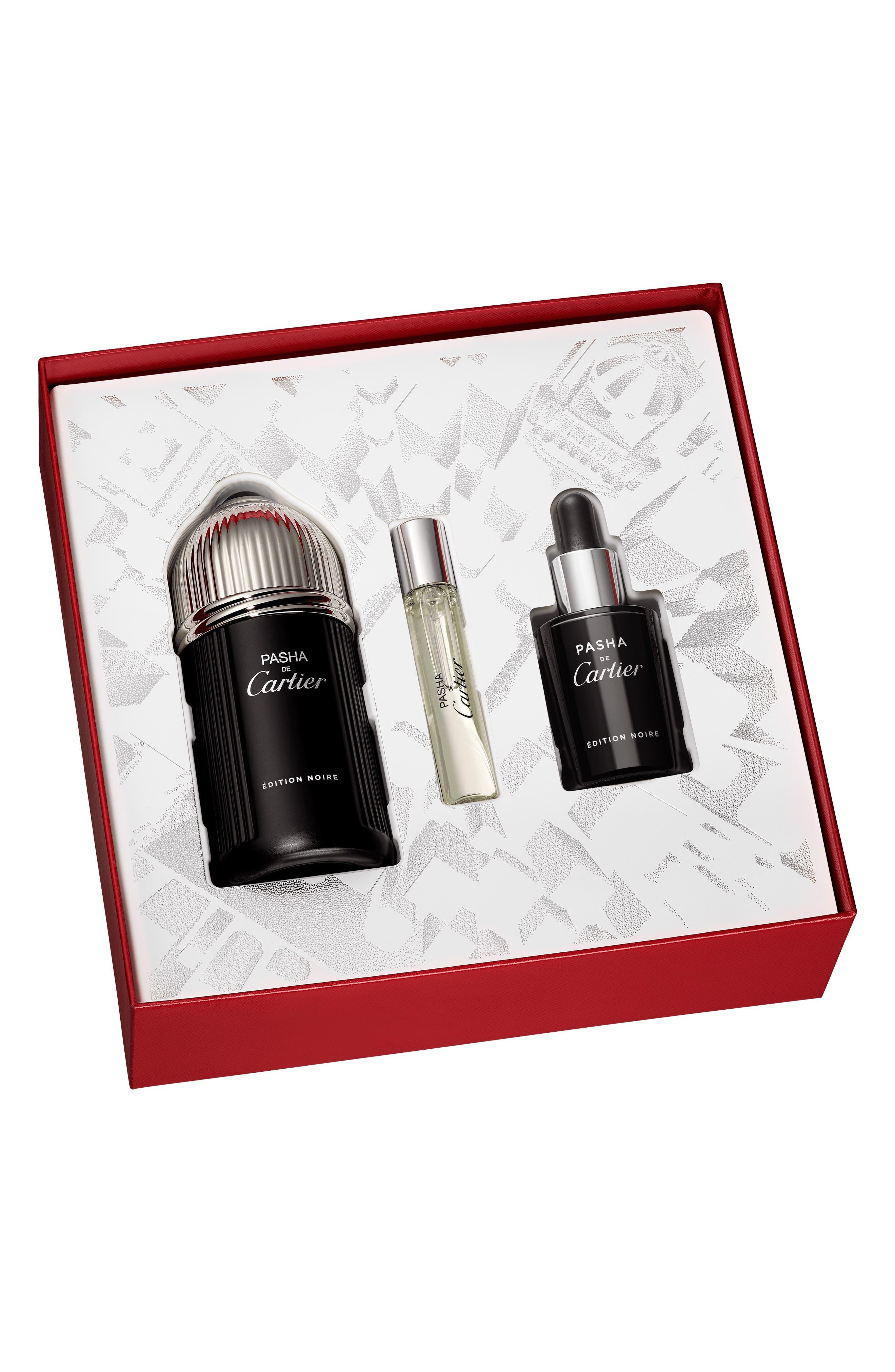 Cartier Pasha De Cartier Edition Noire Eau De Toilette Set ($195 Value)