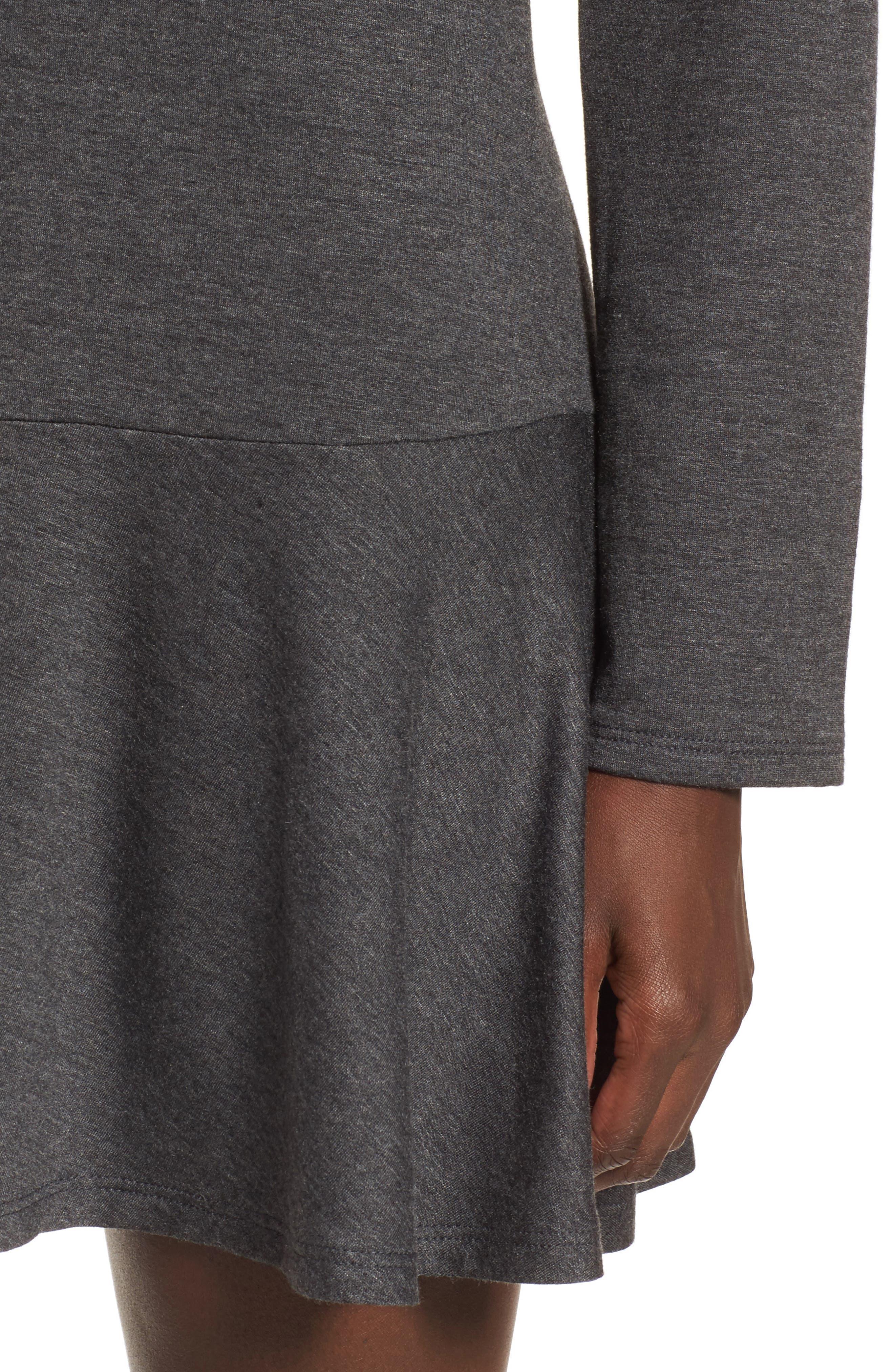 Drop Waist Sweatshirt Dress,                             Alternate thumbnail 10, color,