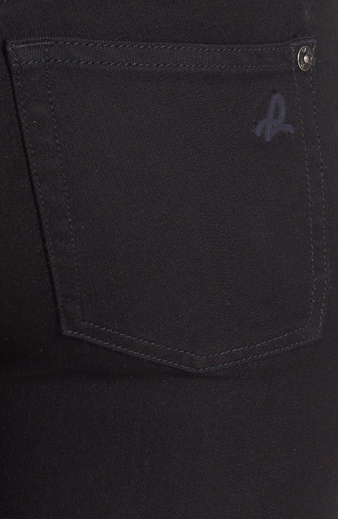 'Florence' Instasculpt Skinny Jeans,                             Alternate thumbnail 3, color,                             001