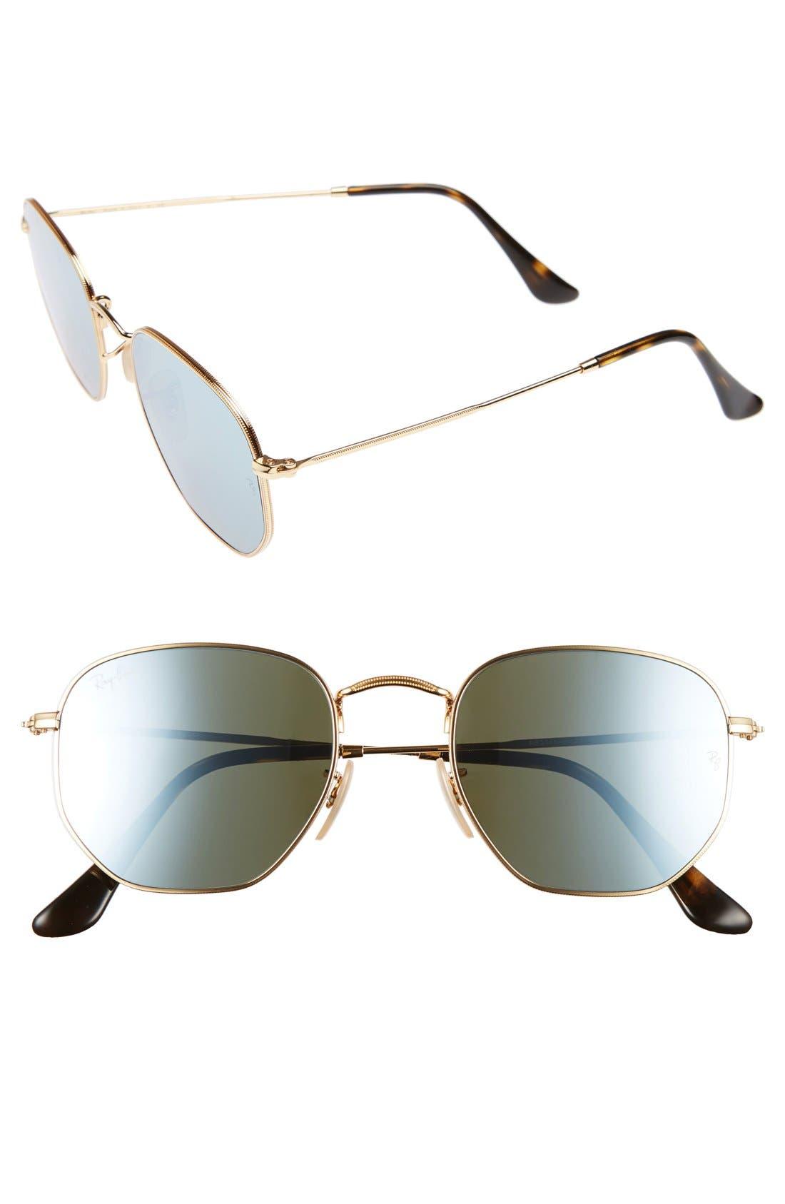 51mm Sunglasses,                             Alternate thumbnail 4, color,                             710