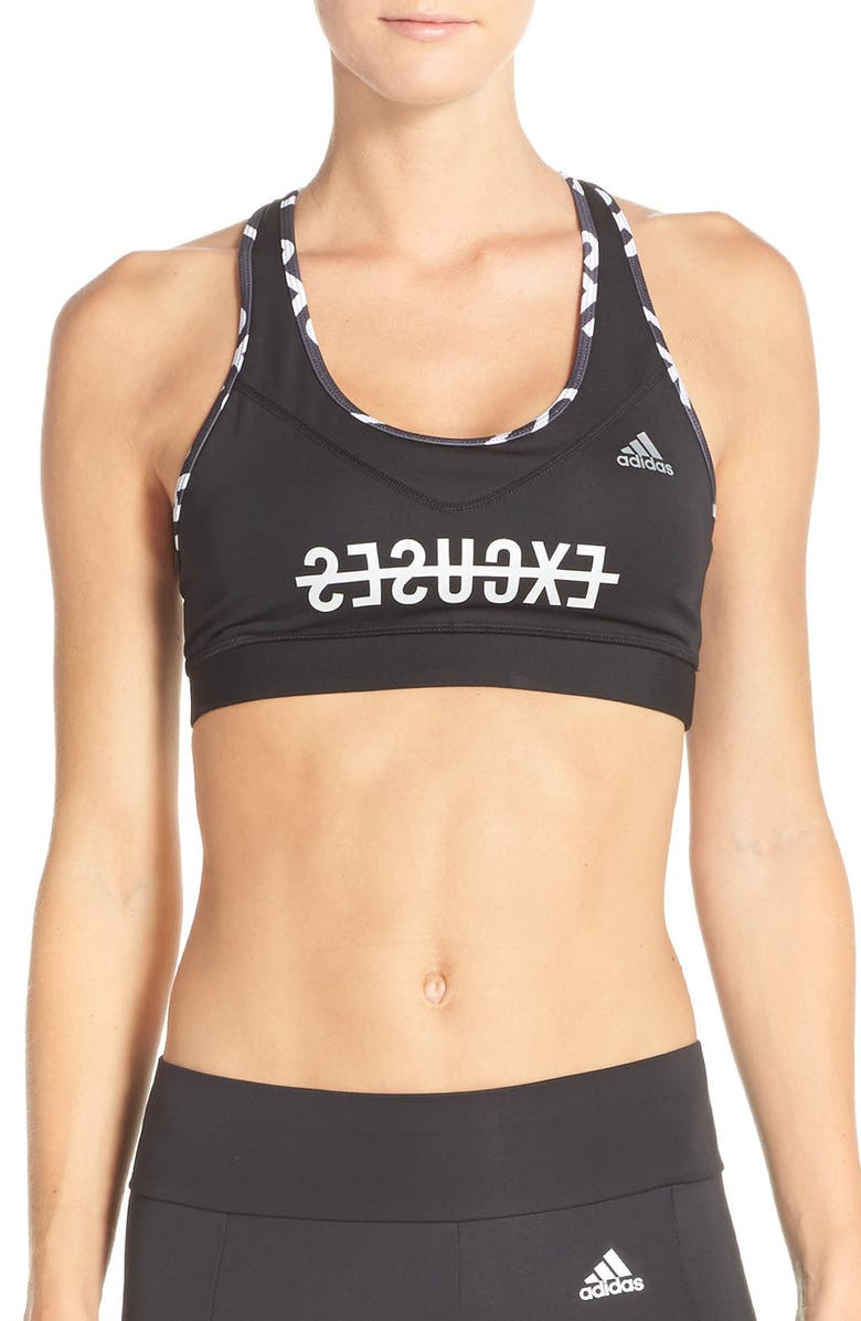 4454fe923e adidas  Techfit - No Excuses  CLIMALITE® Sports Bra