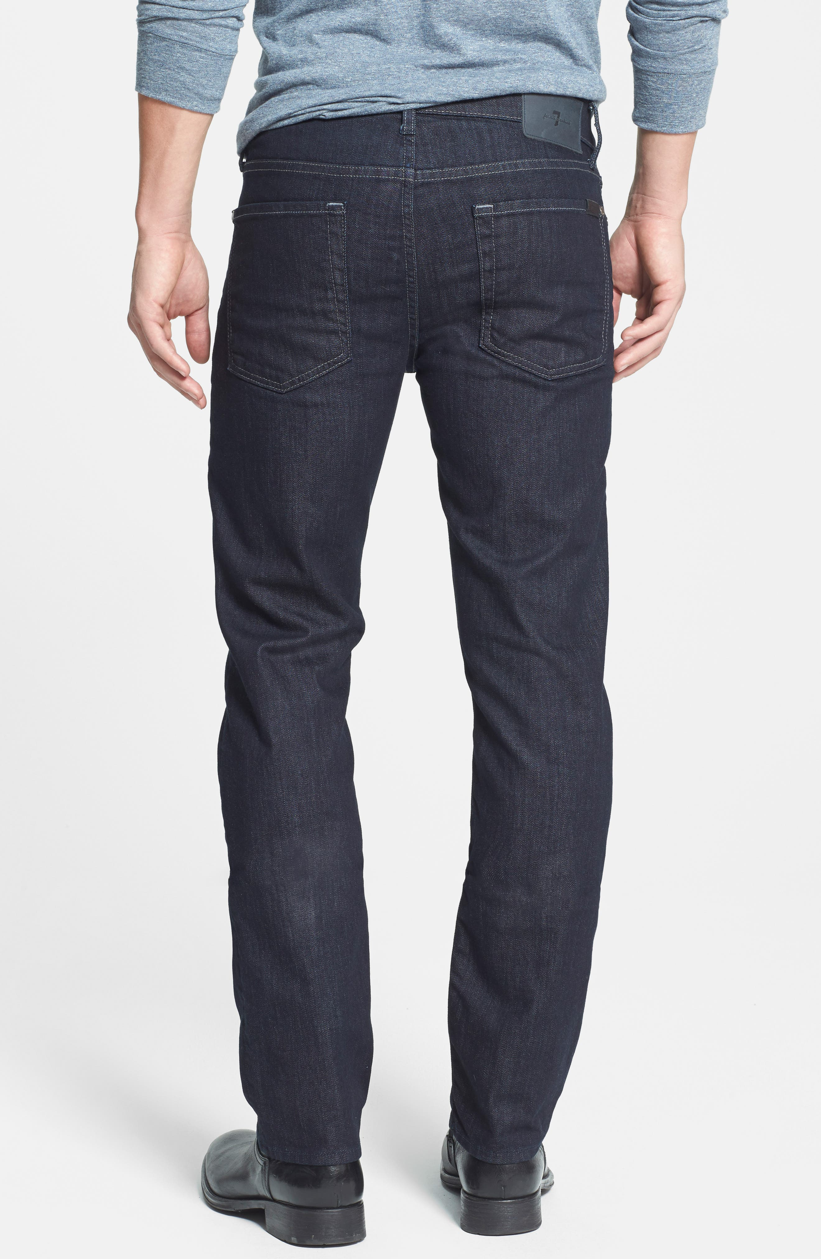 7 FOR ALL MANKIND<SUP>®</SUP>,                             'Slimmy - Luxe Performance' Slim Fit Jeans,                             Alternate thumbnail 7, color,                             400