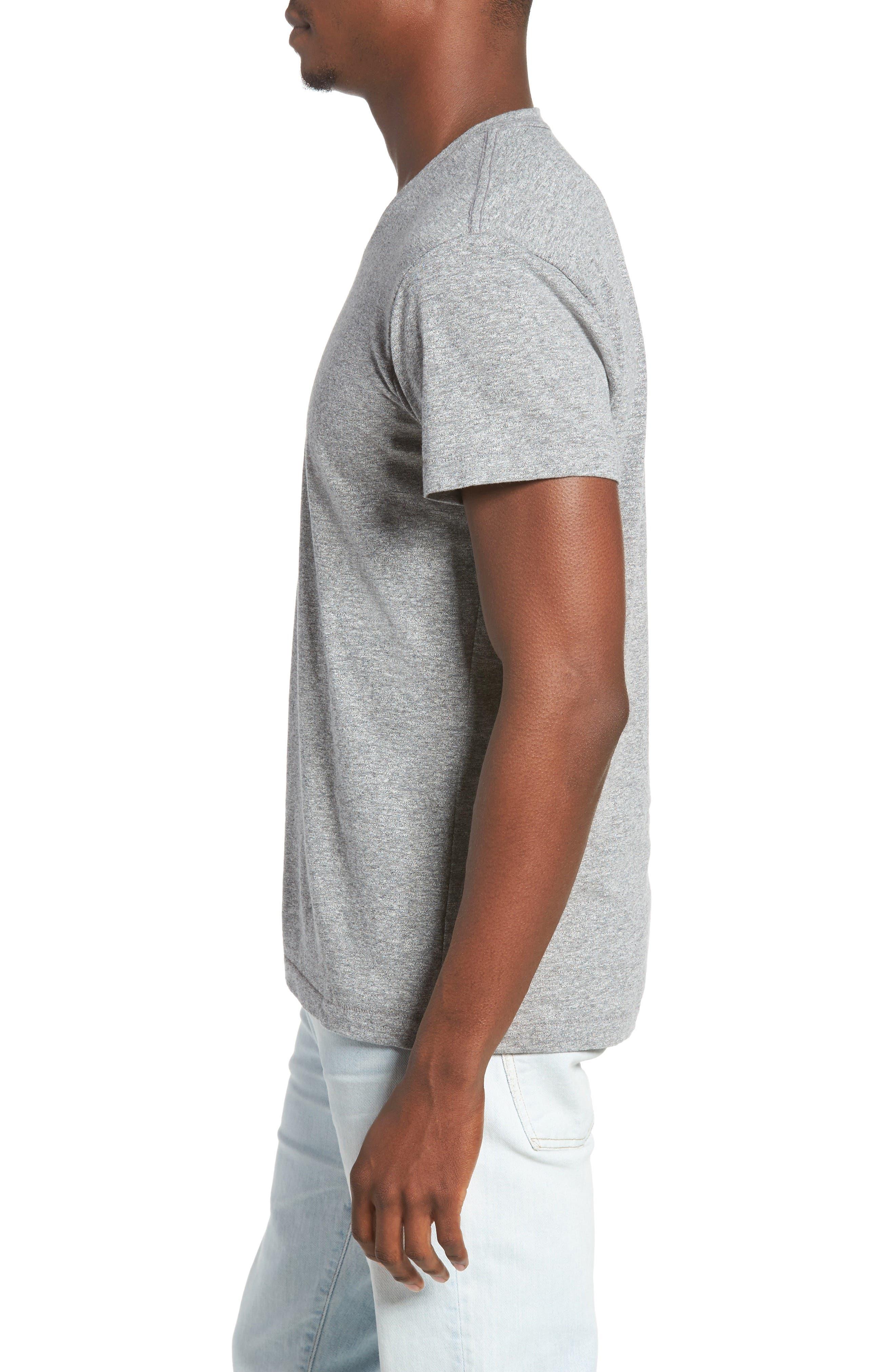 Essential V-Neck T-Shirt,                             Alternate thumbnail 25, color,