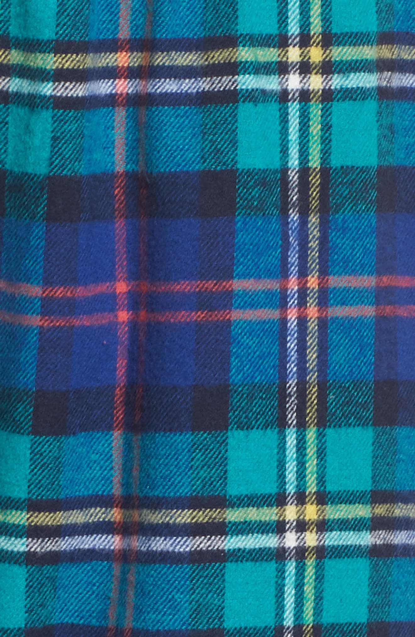 Plaid Pajama Pants,                             Alternate thumbnail 5, color,                             SCHOLAR PLAID