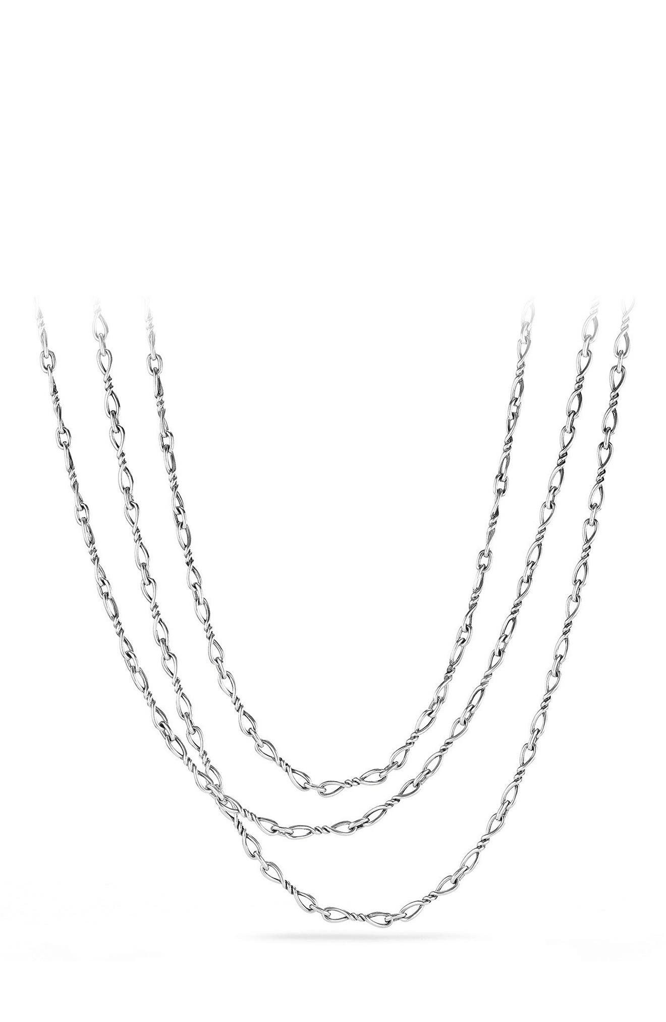 Continuance Chain Necklace,                         Main,                         color, SILVER