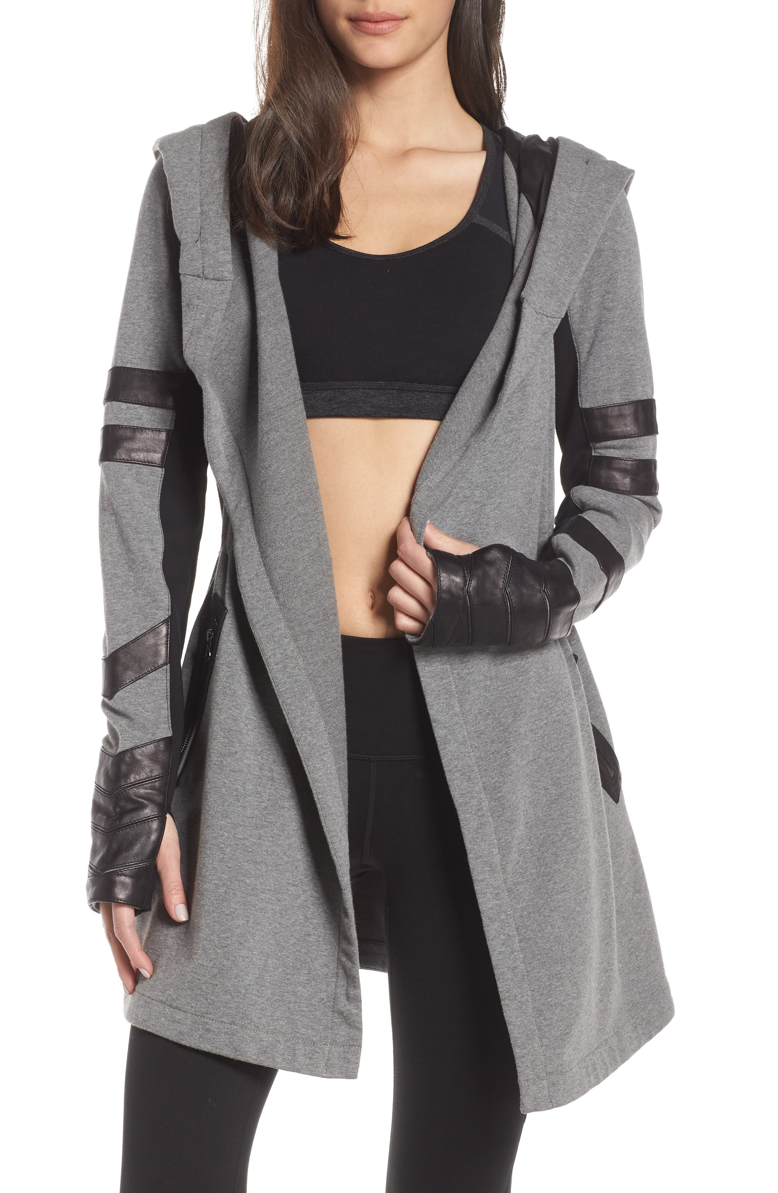 Blanc Noir Maitri Traveler Jacket, Grey