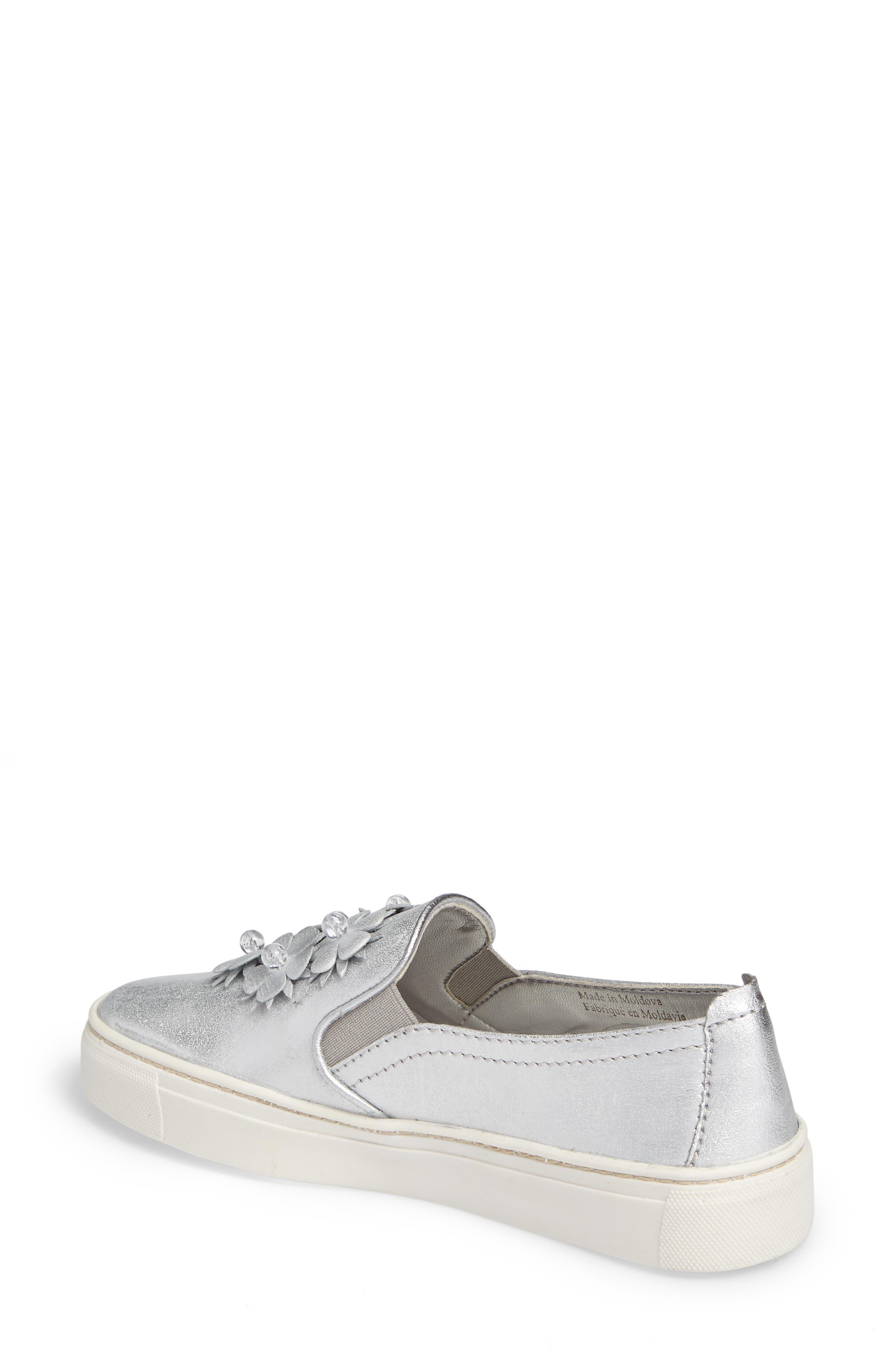 Sneak Blossom Slip-On Sneaker,                             Alternate thumbnail 2, color,                             020