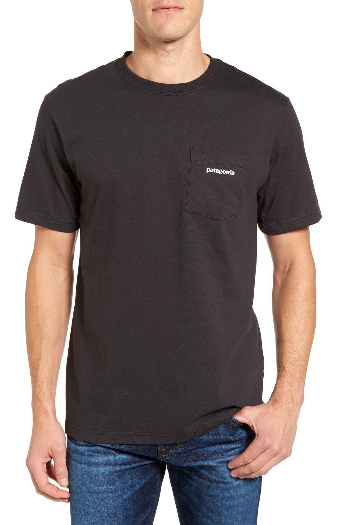 P-6 Logo Graphic T-Shirt,                             Main thumbnail 1, color,                             001