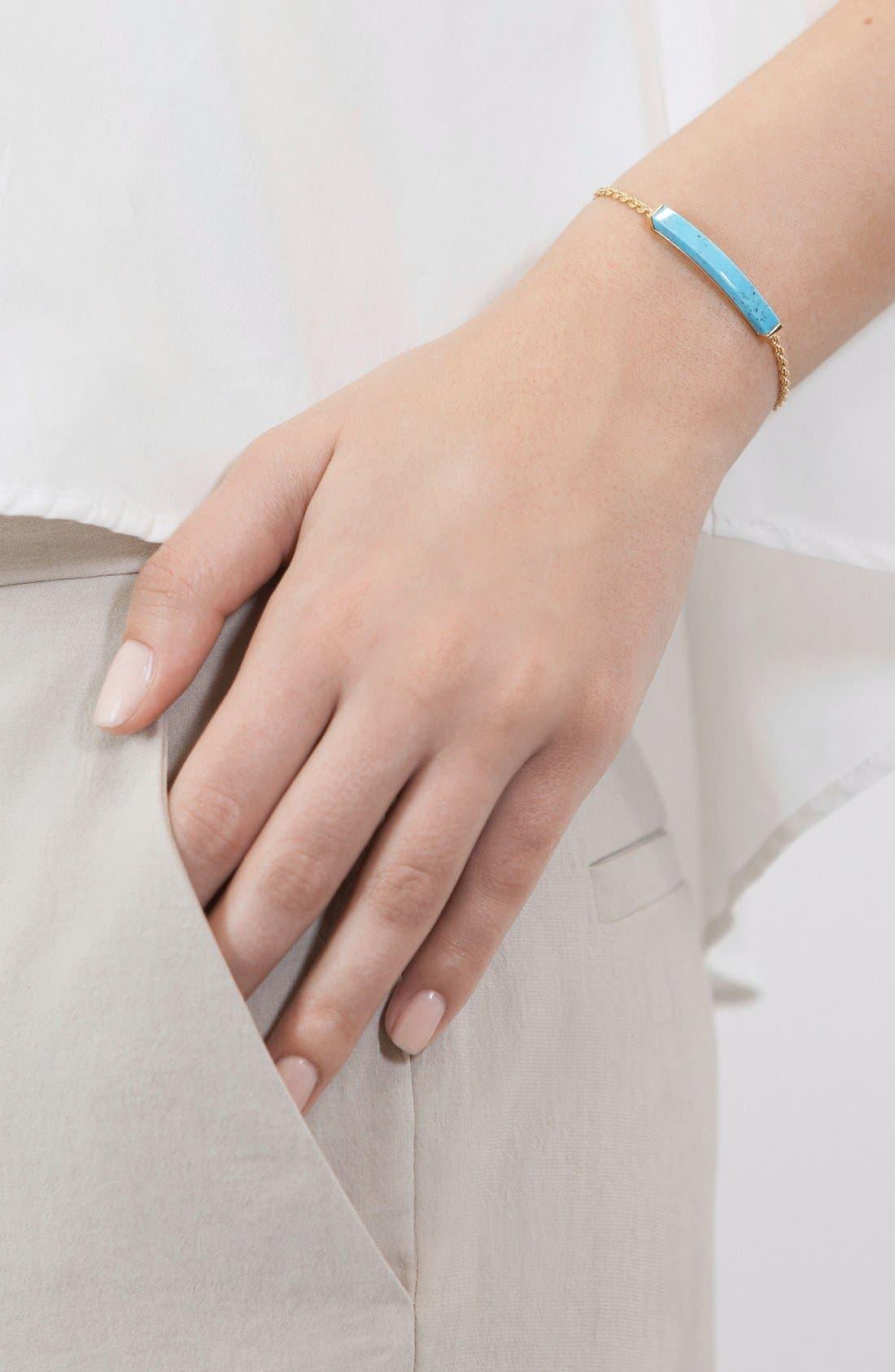 Linear Semiprecious Stone Bracelet,                             Alternate thumbnail 3, color,                             400