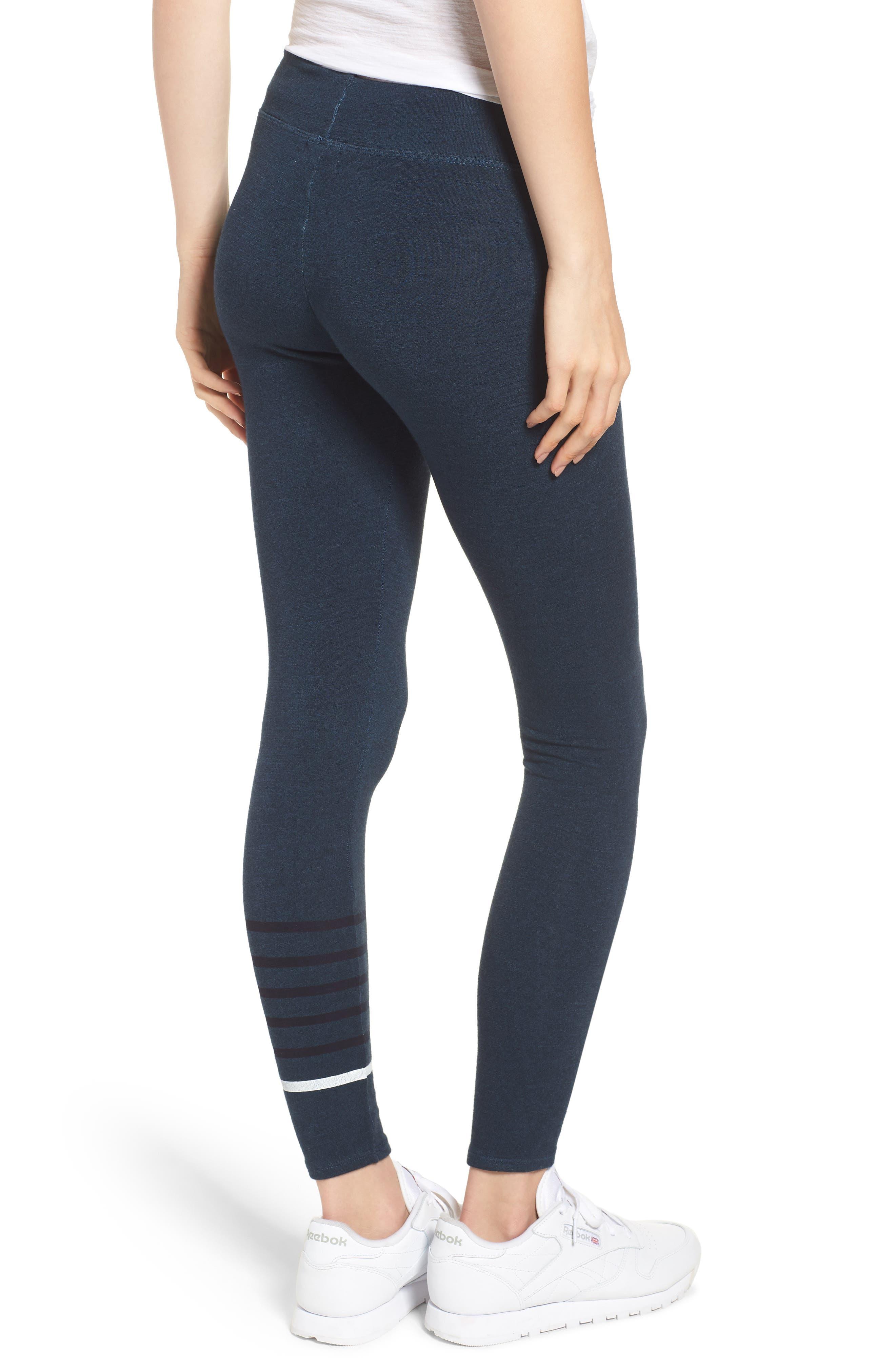 Stripe Yoga Pants,                             Alternate thumbnail 2, color,                             STORM