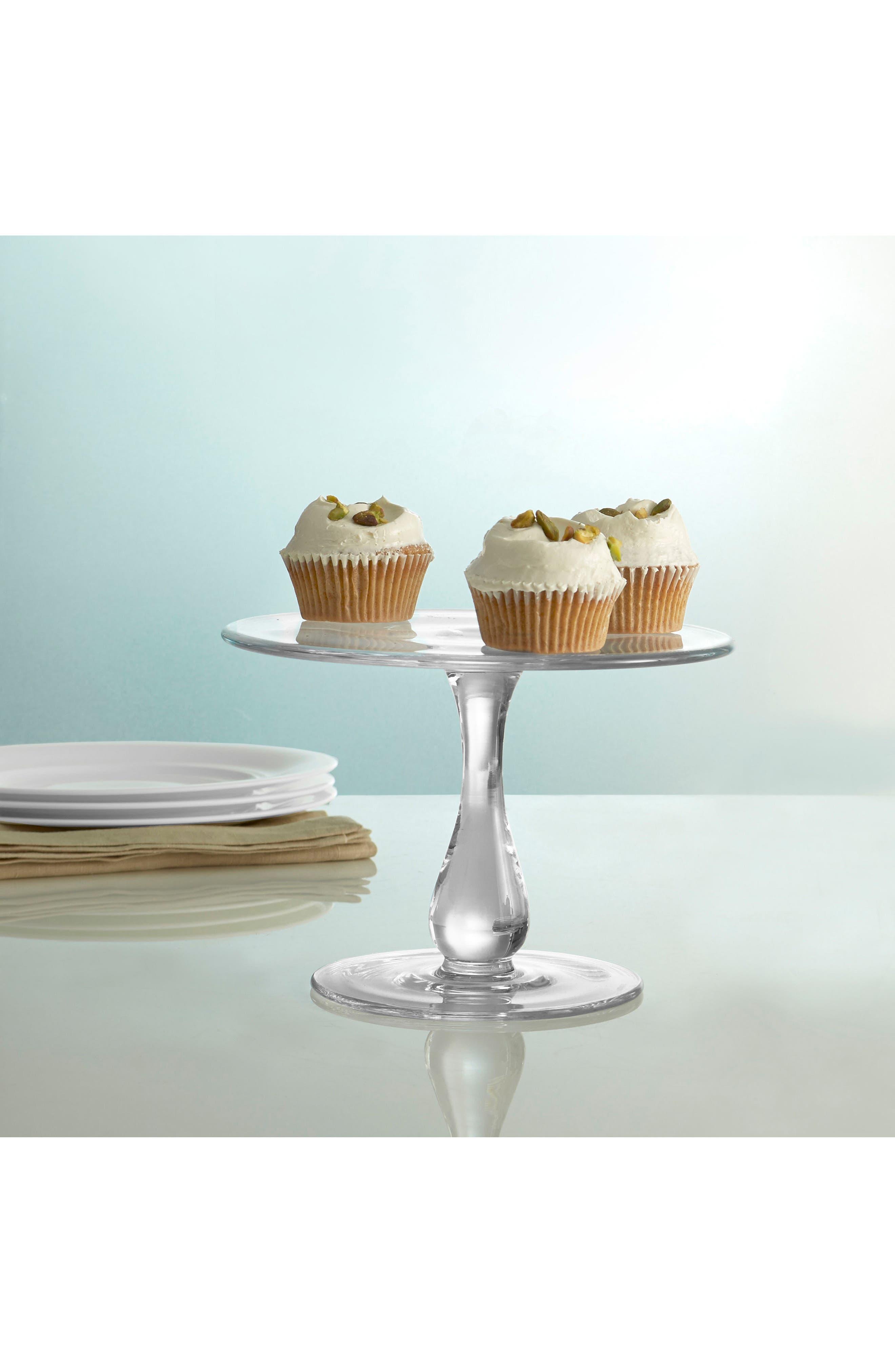 Moderne Cake Plate,                             Alternate thumbnail 2, color,                             100