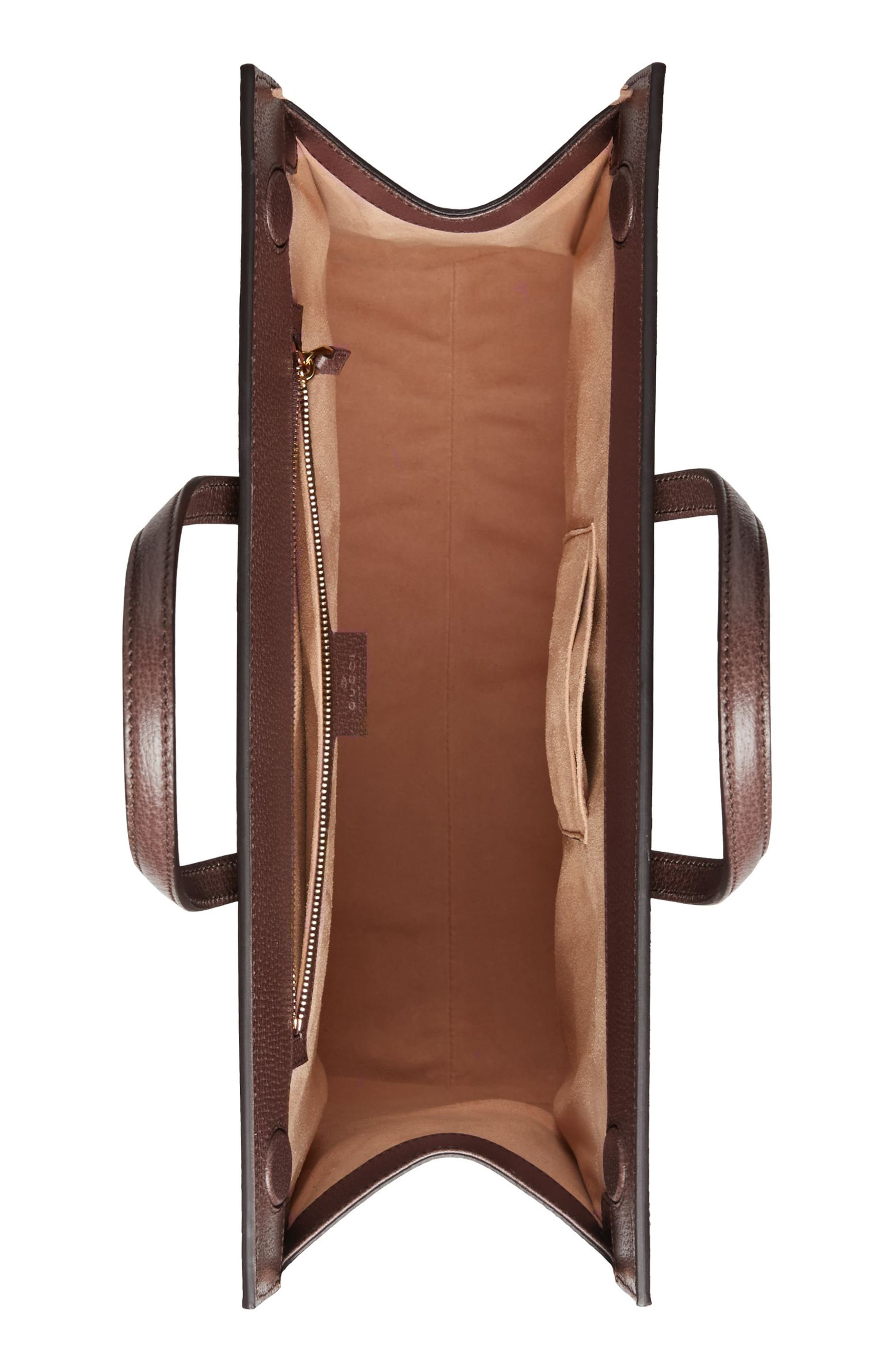 Ophidia GG Supreme Canvas Tote,                             Alternate thumbnail 3, color,