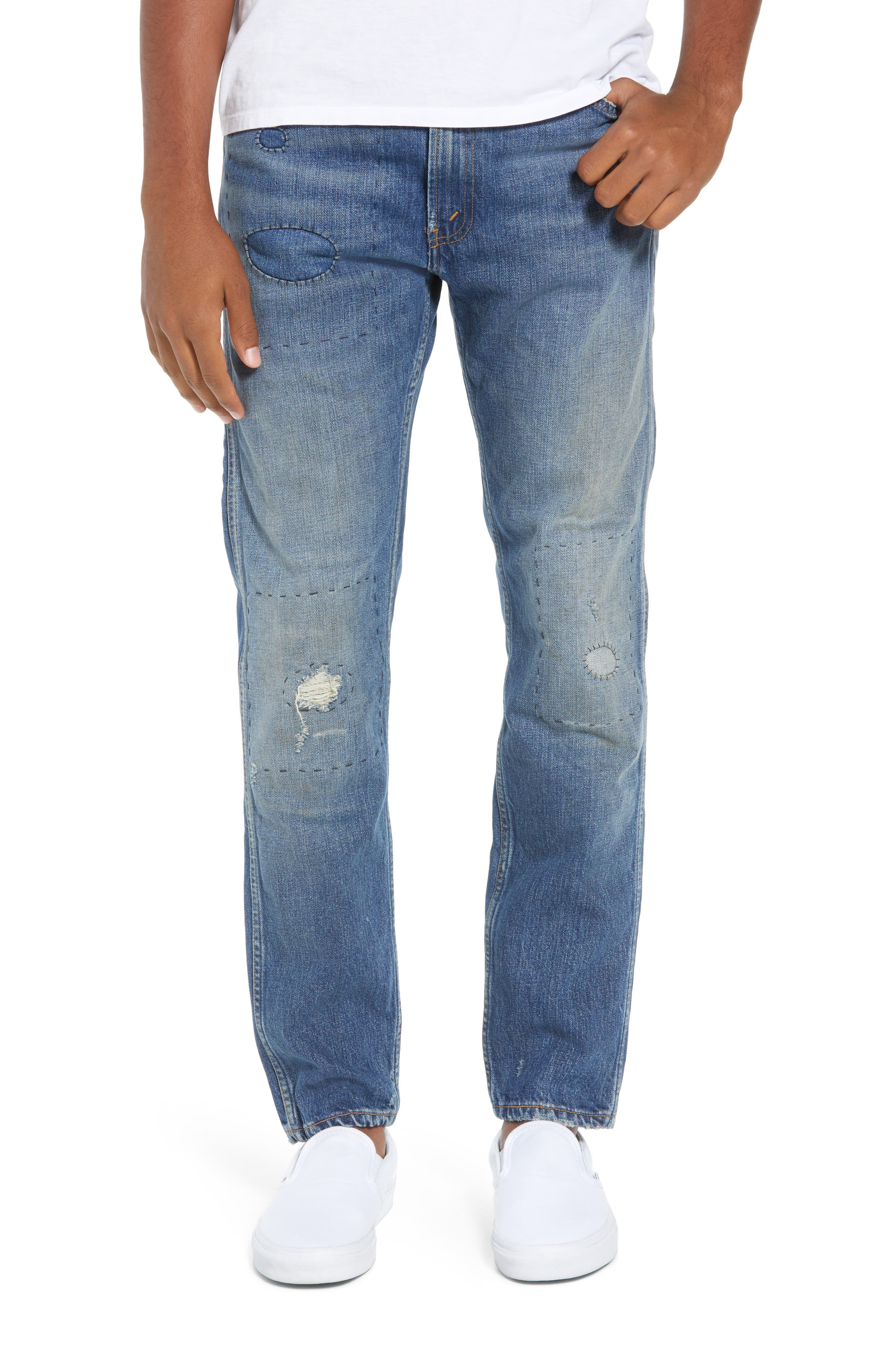 1969 606<sup>™</sup> Slim Fit Jeans,                             Main thumbnail 1, color,                             401